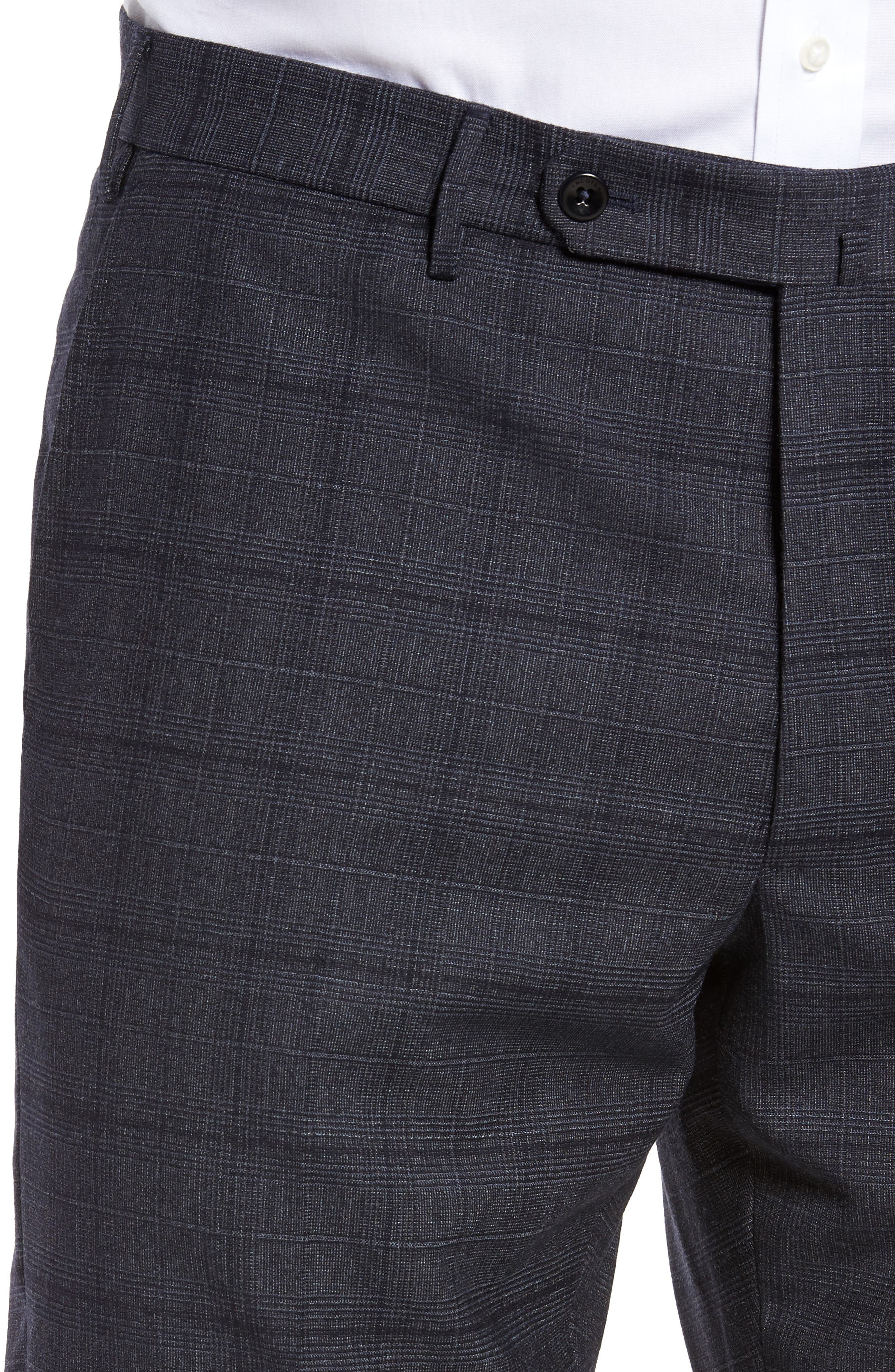Alternate Image 5  - Incotex Benson Flat Front Trousers
