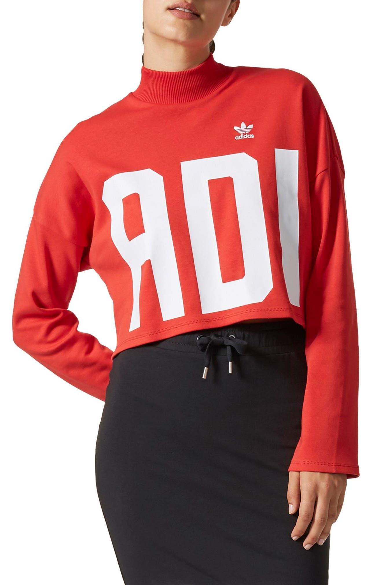 adidas Bold Age Crop Sweatshirt