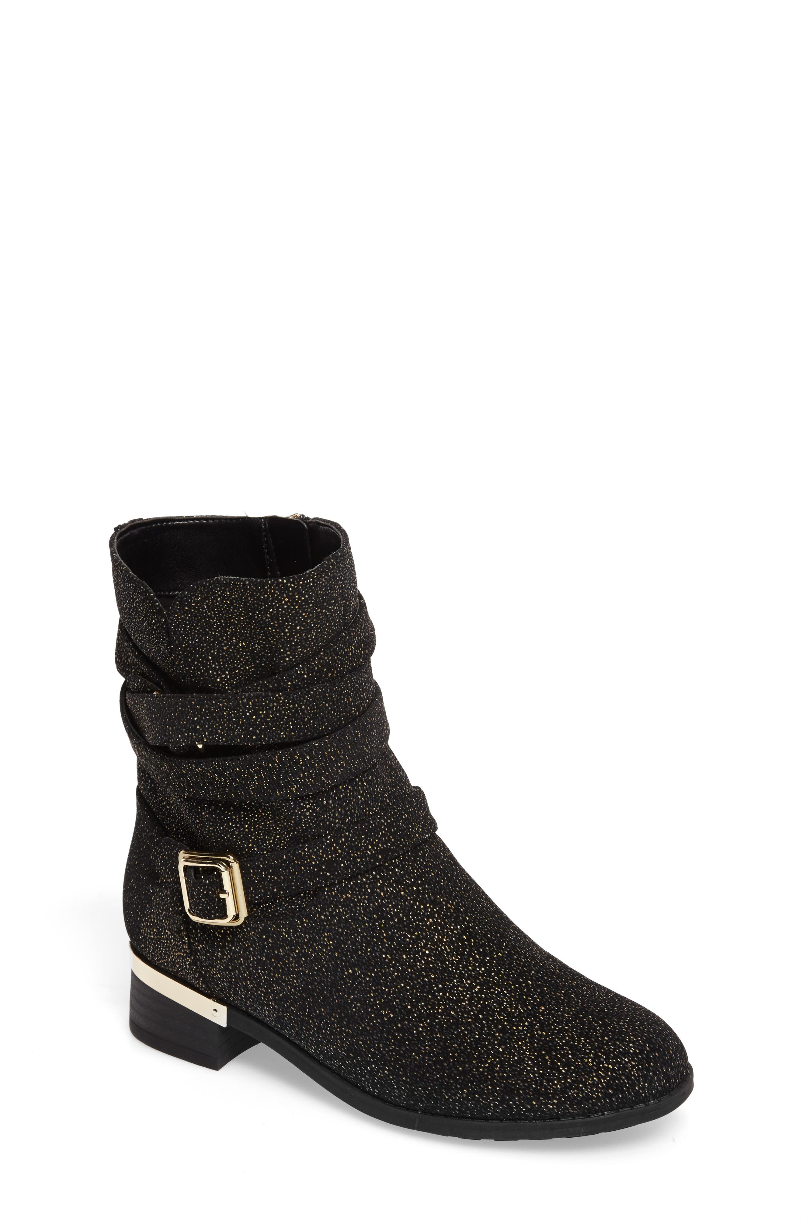 Main Image - Vince Camuto Webb Buckle Strap Bootie (Toddler, Little Kid & Big Kid)