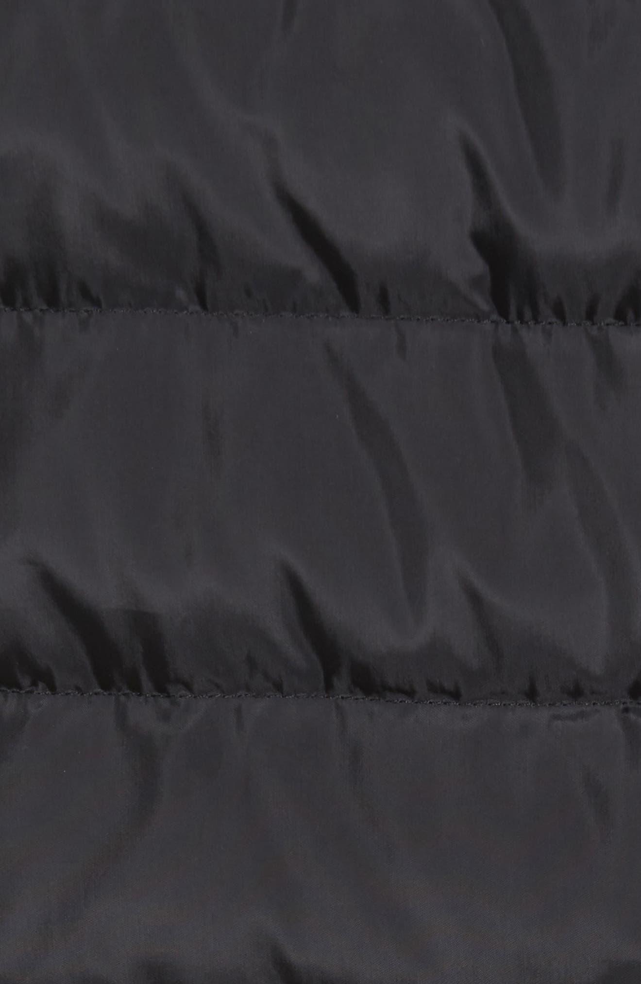 Packable Down Jacket,                             Alternate thumbnail 5, color,                             Black