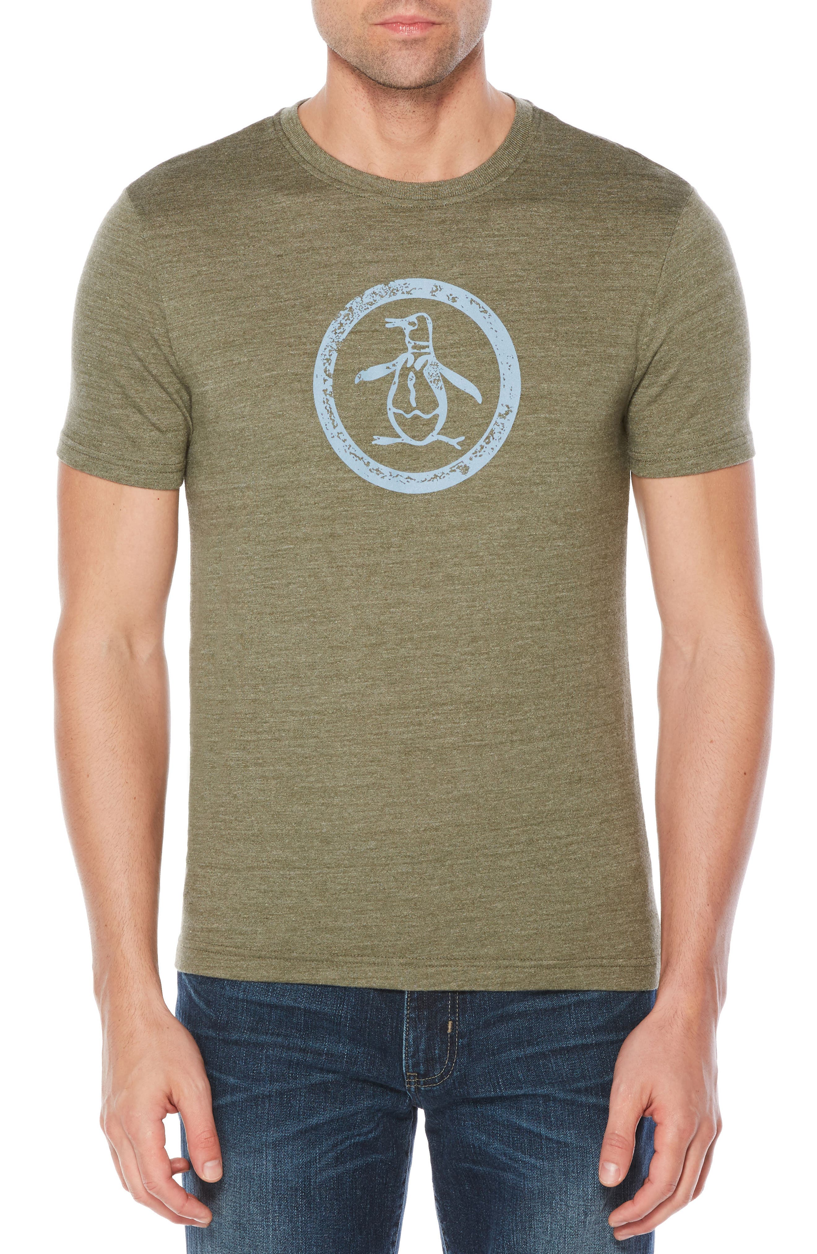 Circle Logo T-Shirt,                         Main,                         color, Forest Night