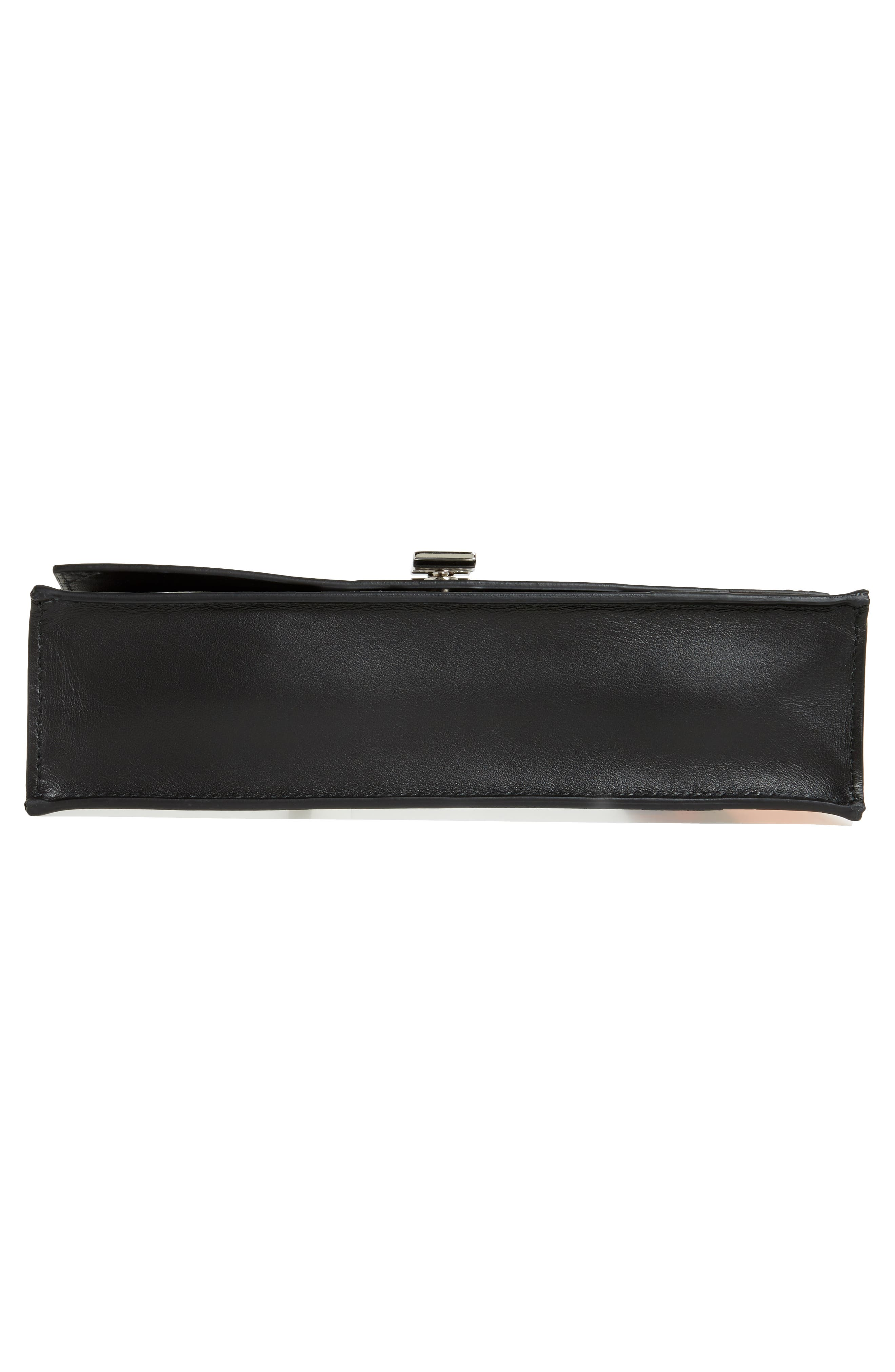 Alternate Image 6  - Proenza Schouler Small Metallic Leather Lunch Bag Clutch