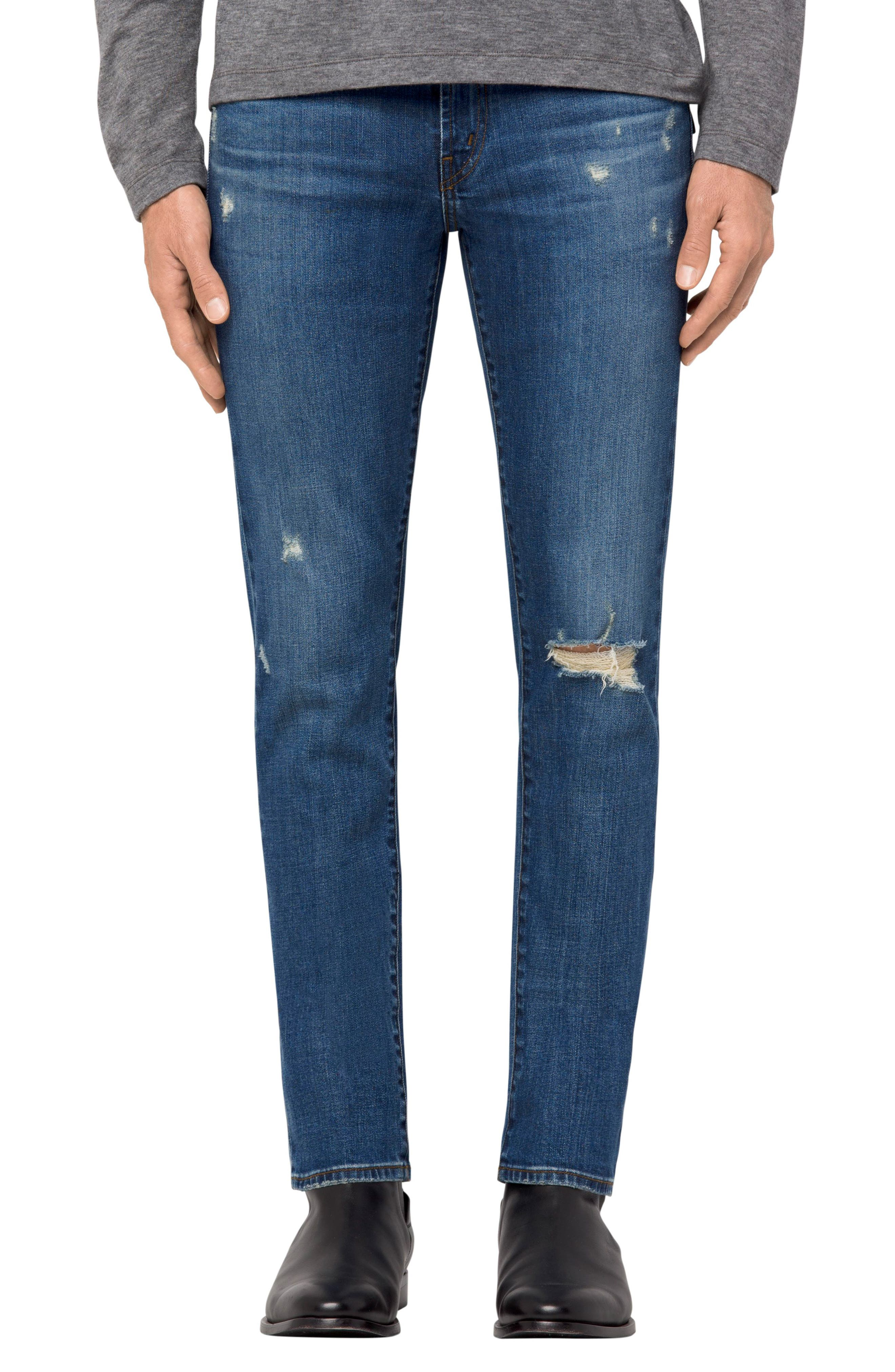 Alternate Image 1 Selected - J Brand Tyler Slim Fit Jeans (Flintridge)