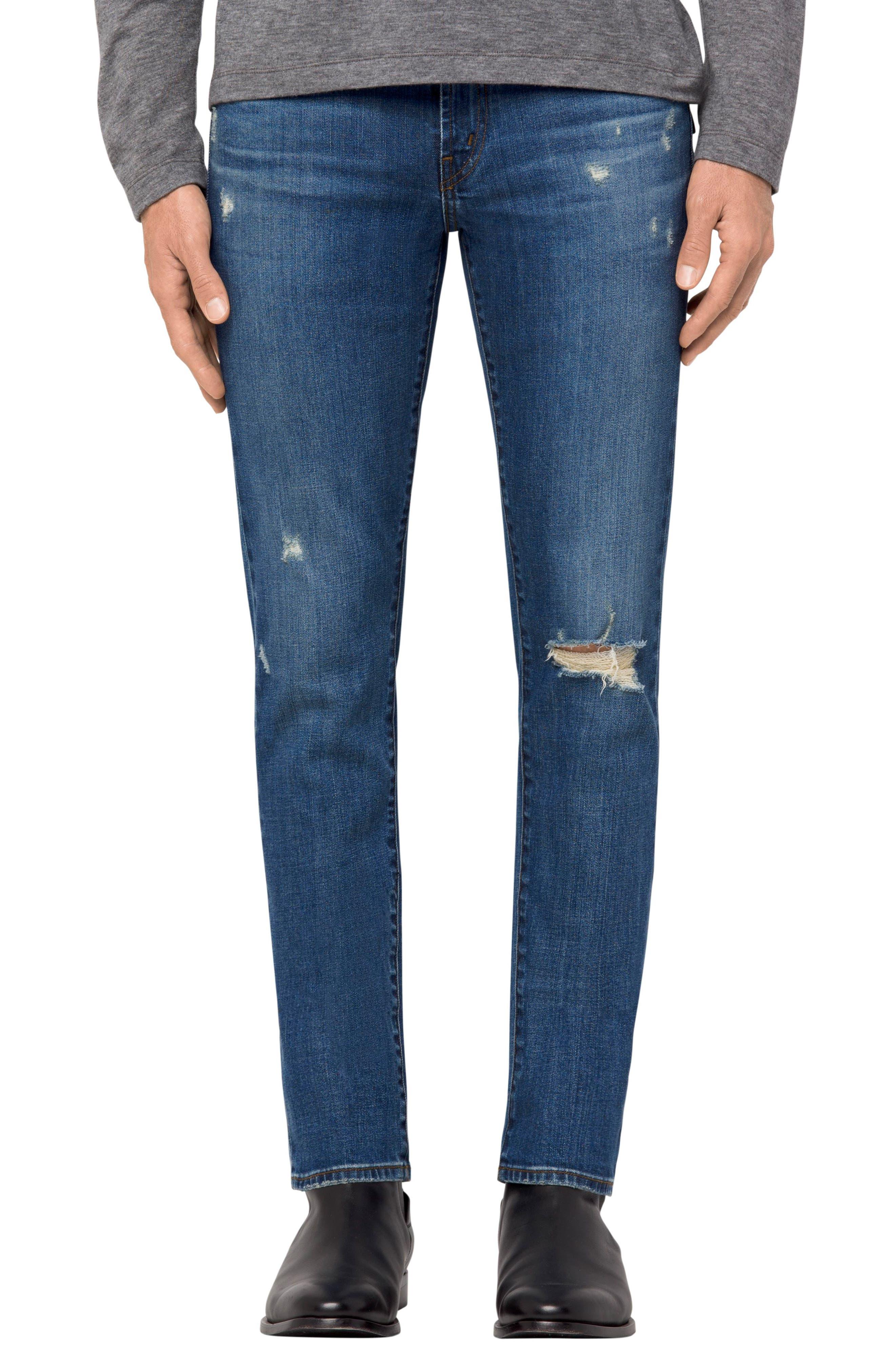 Tyler Slim Fit Jeans,                         Main,                         color, Flintridge