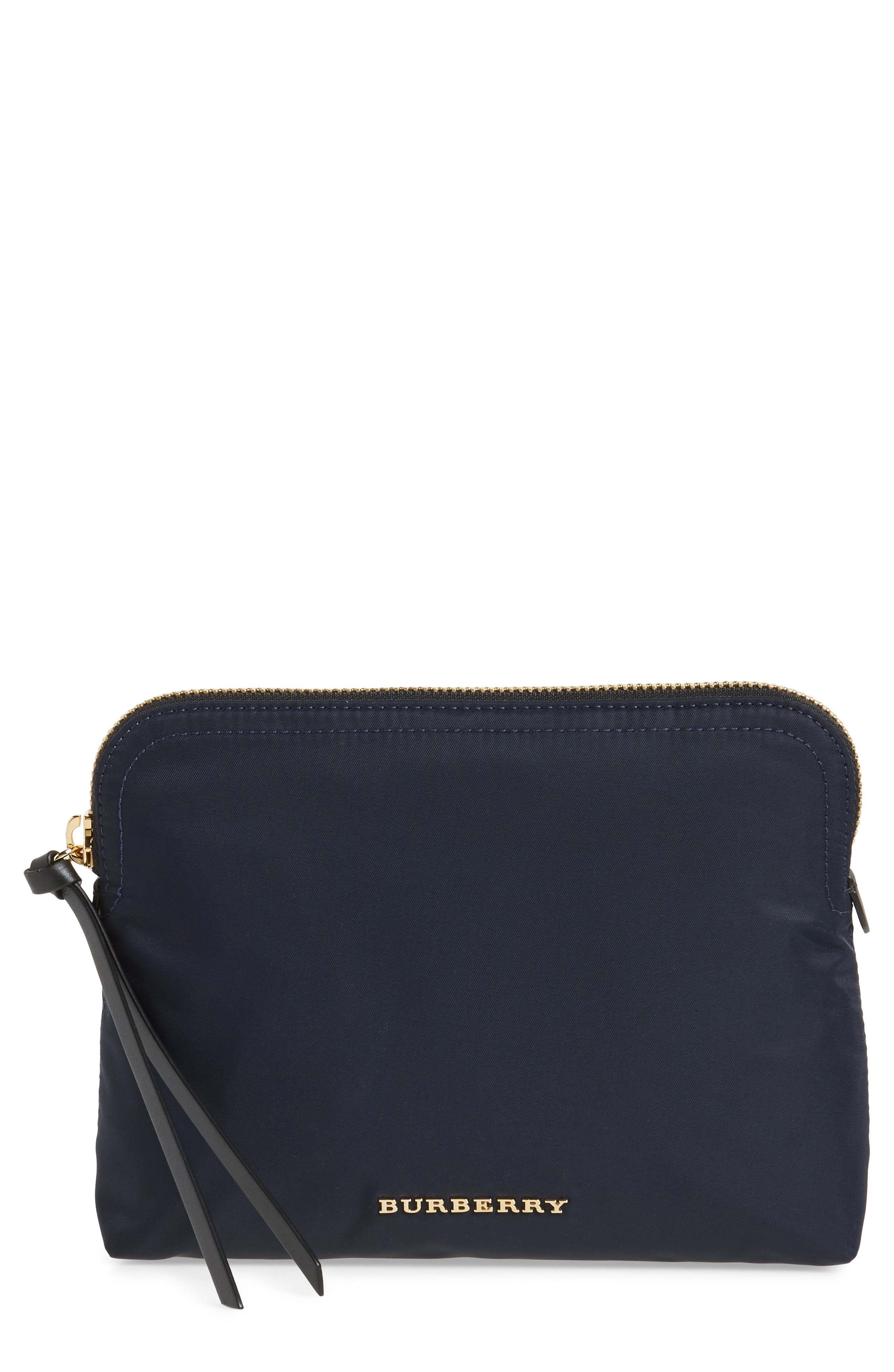 Nylon Pouch,                         Main,                         color, Ink Blue