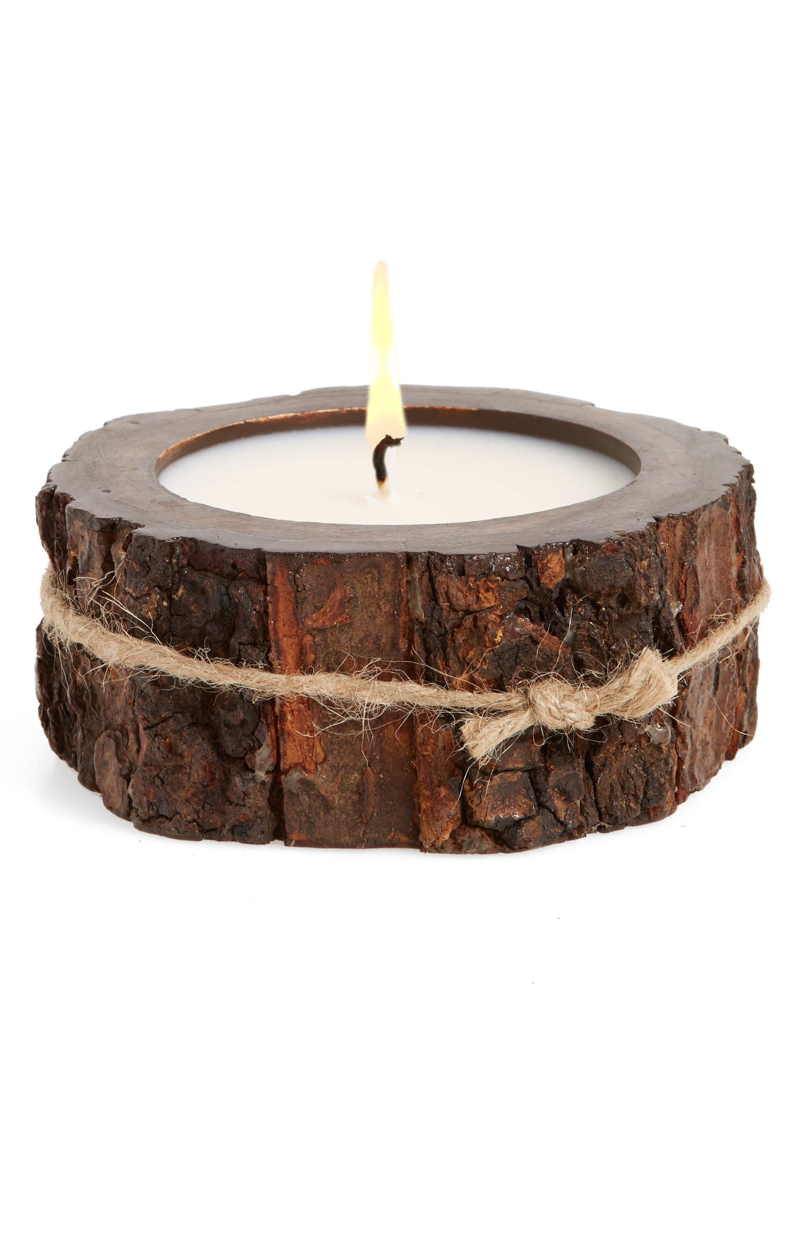 Himalayan Trading Post Tree Bark Candle