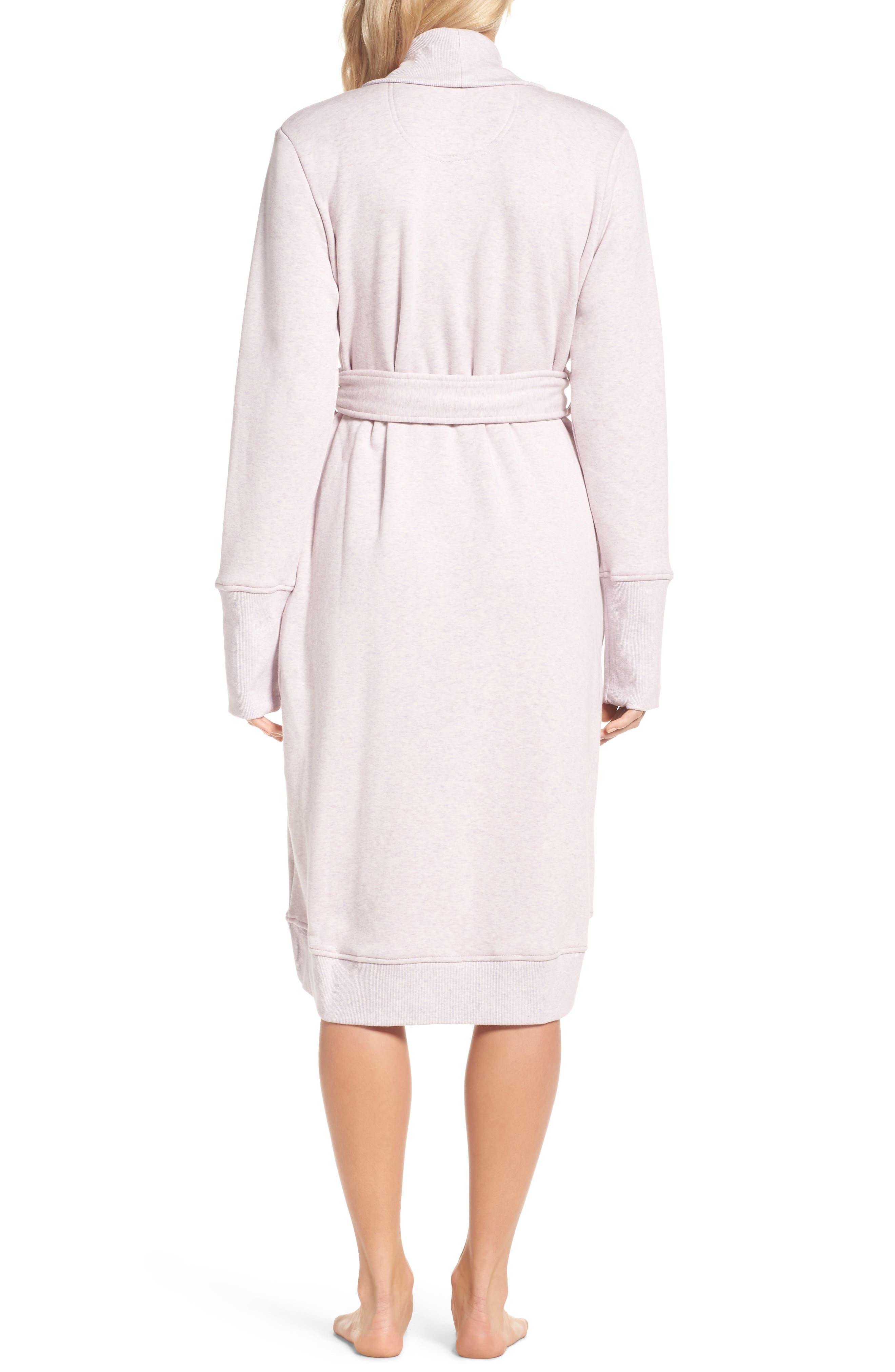 Alternate Image 2  - UGG® 'Karoline' Fleece Robe