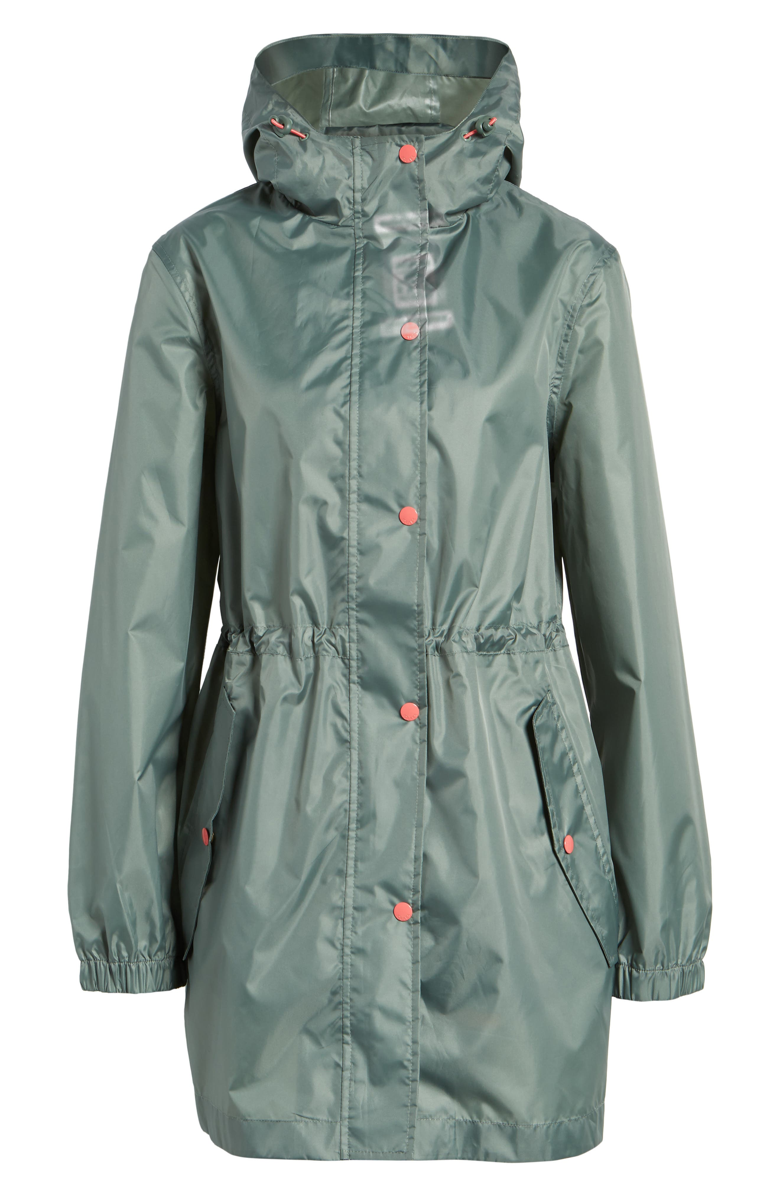 Alternate Image 6  - Joules Right as Rain Packable Hooded Raincoat