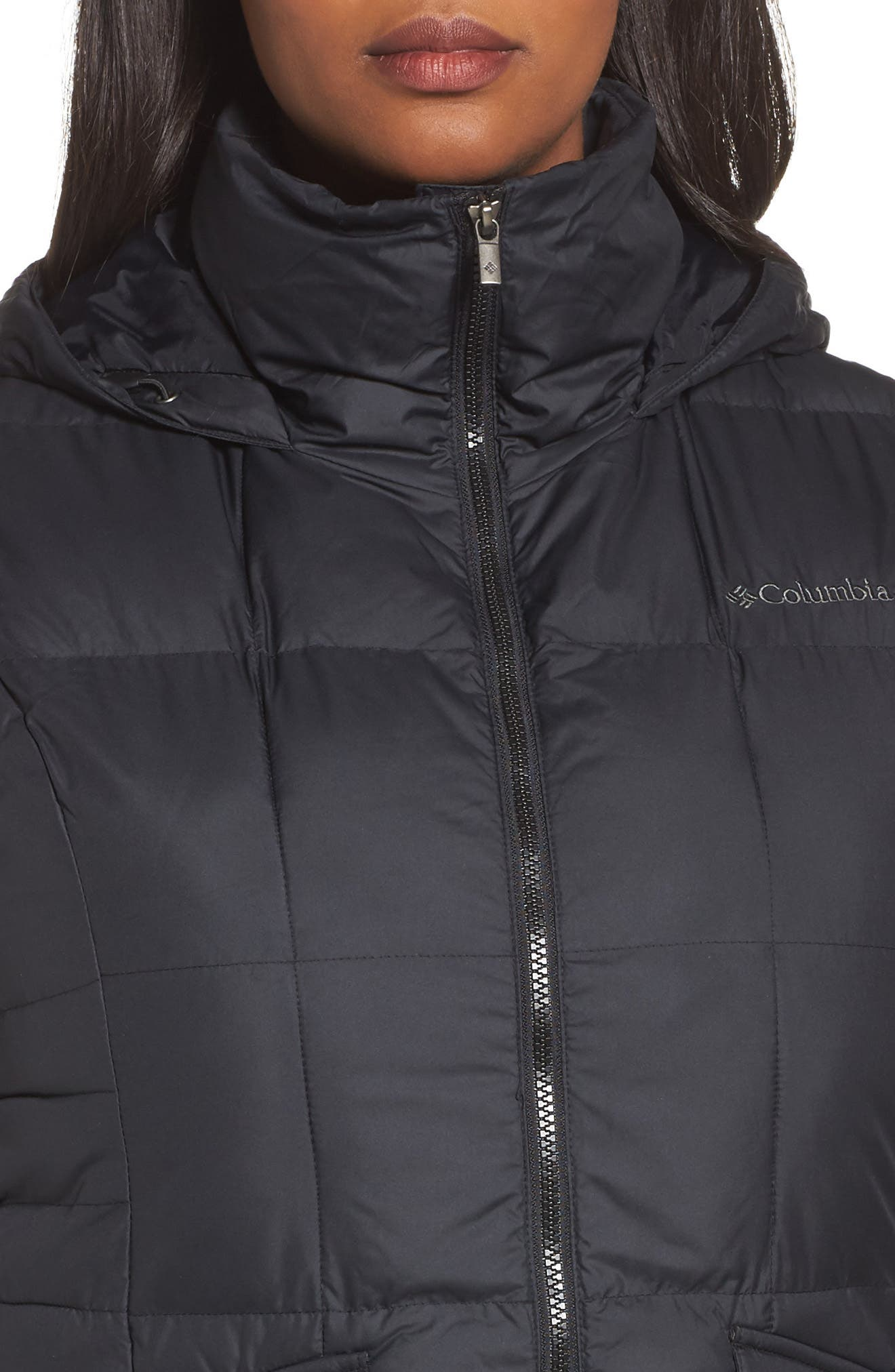 Alternate Image 4  - Columbia Lone Creek Puffer Vest (Plus Size)