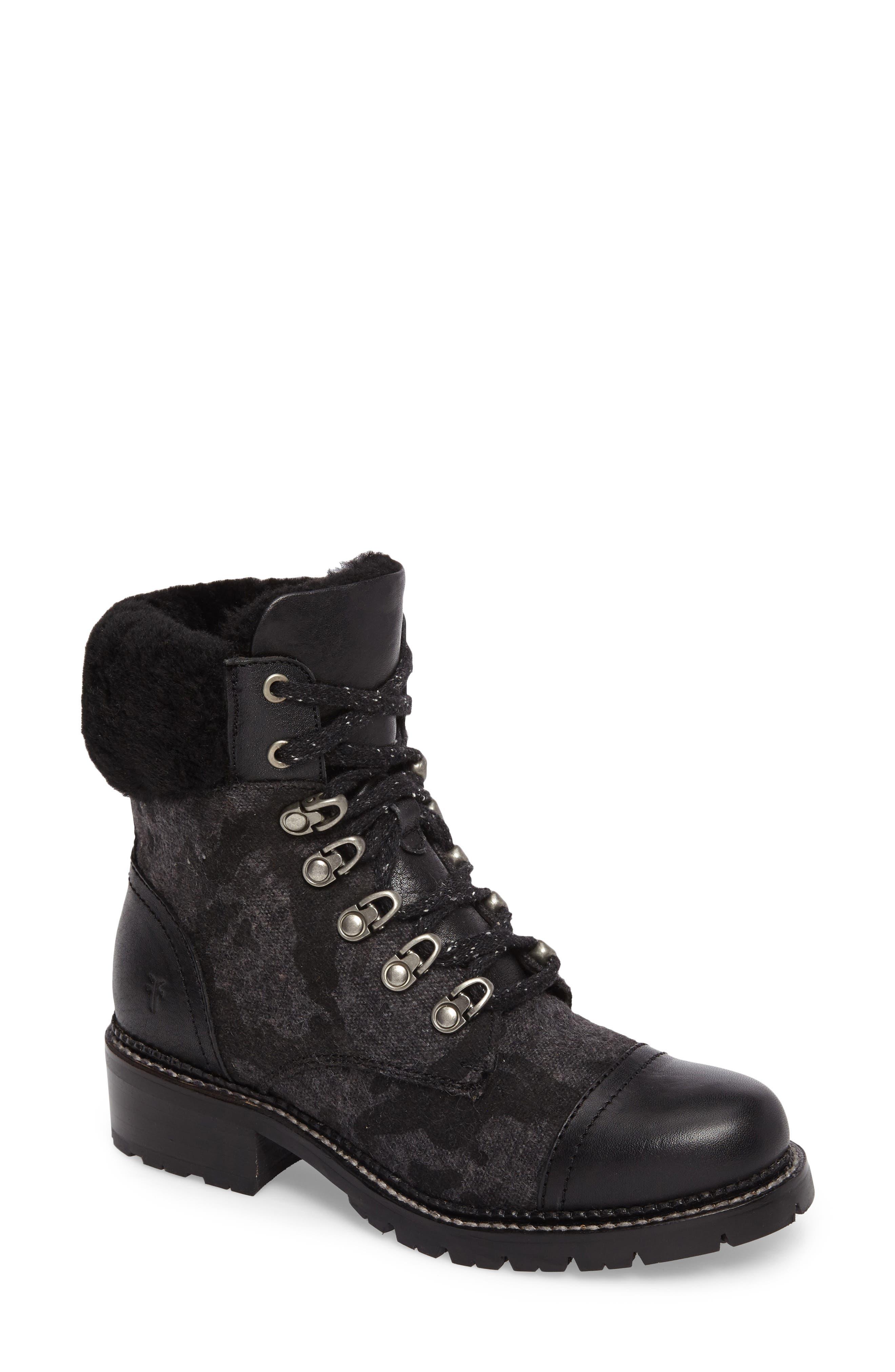 Frye Samantha Water Resistant Hiking Boot (Women)