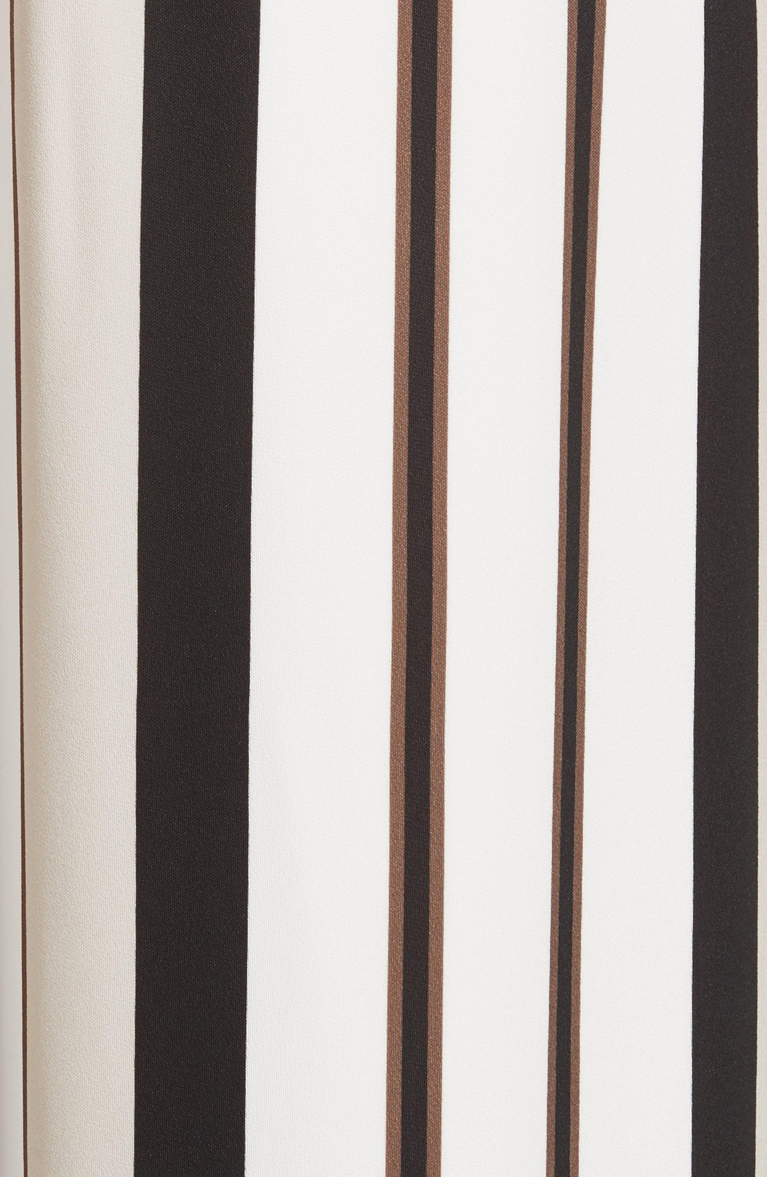 Allen Legacy Stripe Drape Cloth Pants,                             Alternate thumbnail 6, color,                             Black Multi