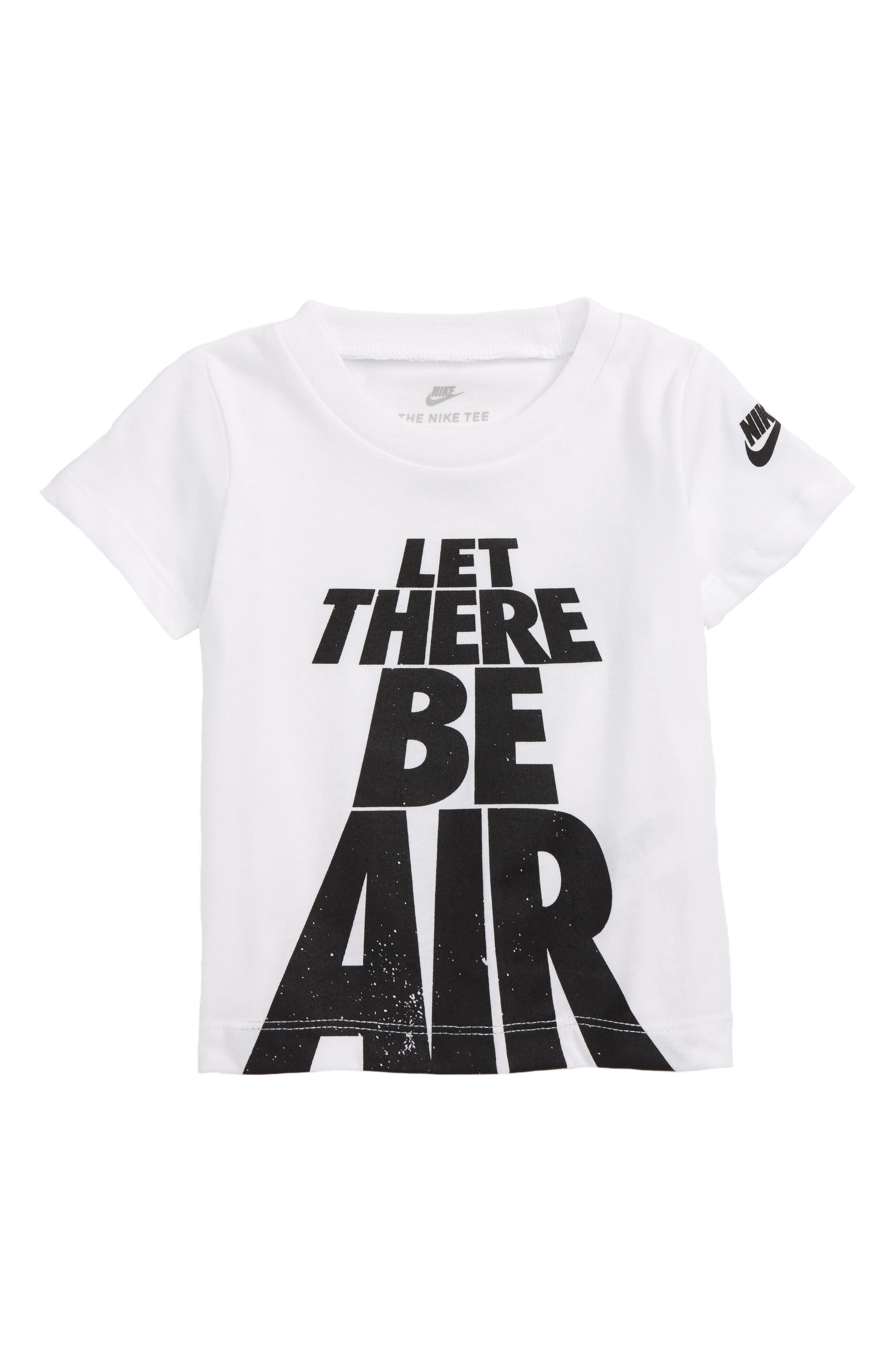 Let There Be Air T-Shirt,                         Main,                         color, White