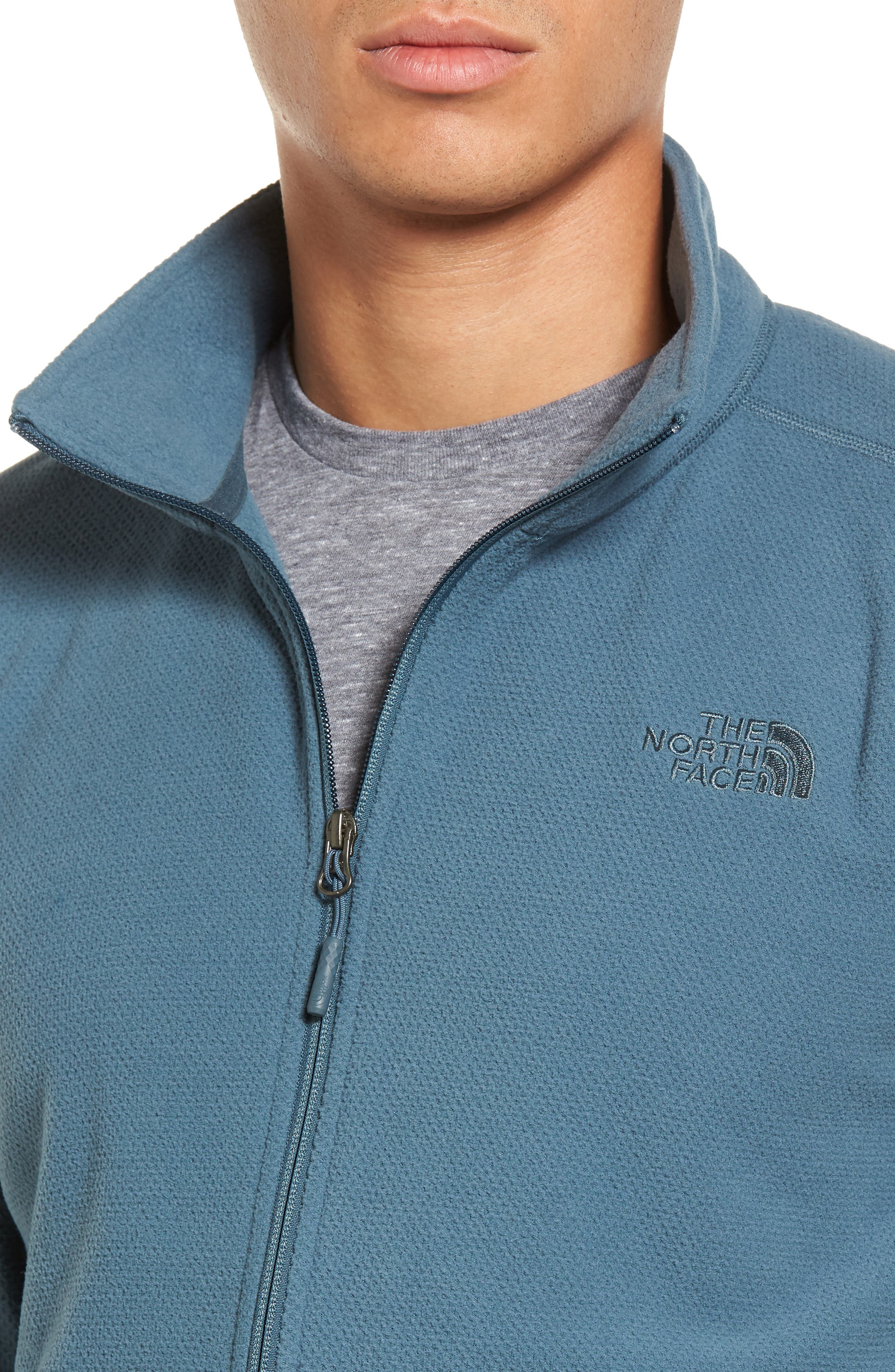 Cap Rock Fleece Jacket,                             Alternate thumbnail 4, color,                             Conquer Blue