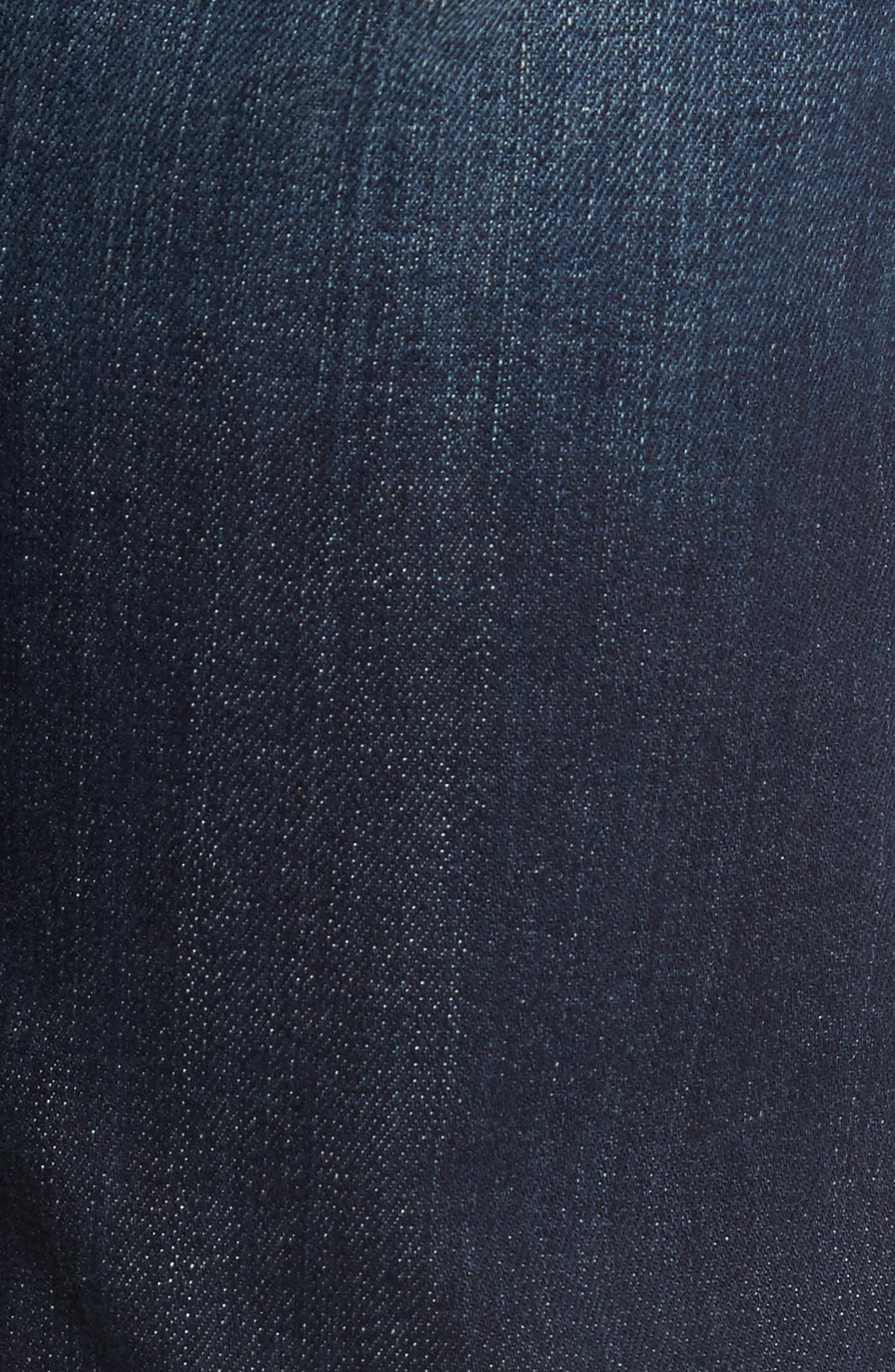 Alternate Image 5  - Fidelity Denim 50-11 Relaxed Fit Jeans (Militia Blue)