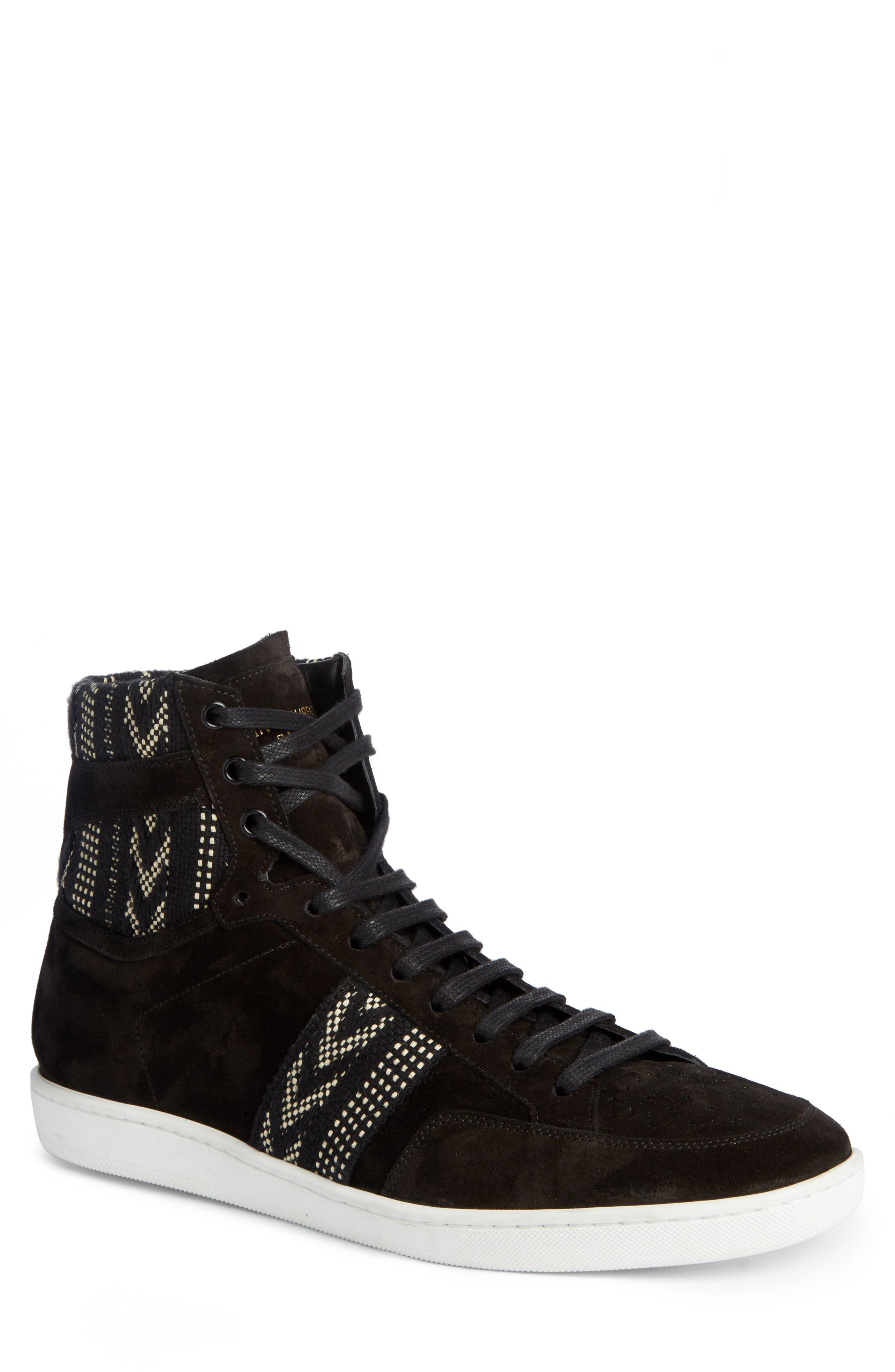 Alternate Image 1 Selected - Saint Laurent High Top Sneaker (Men)