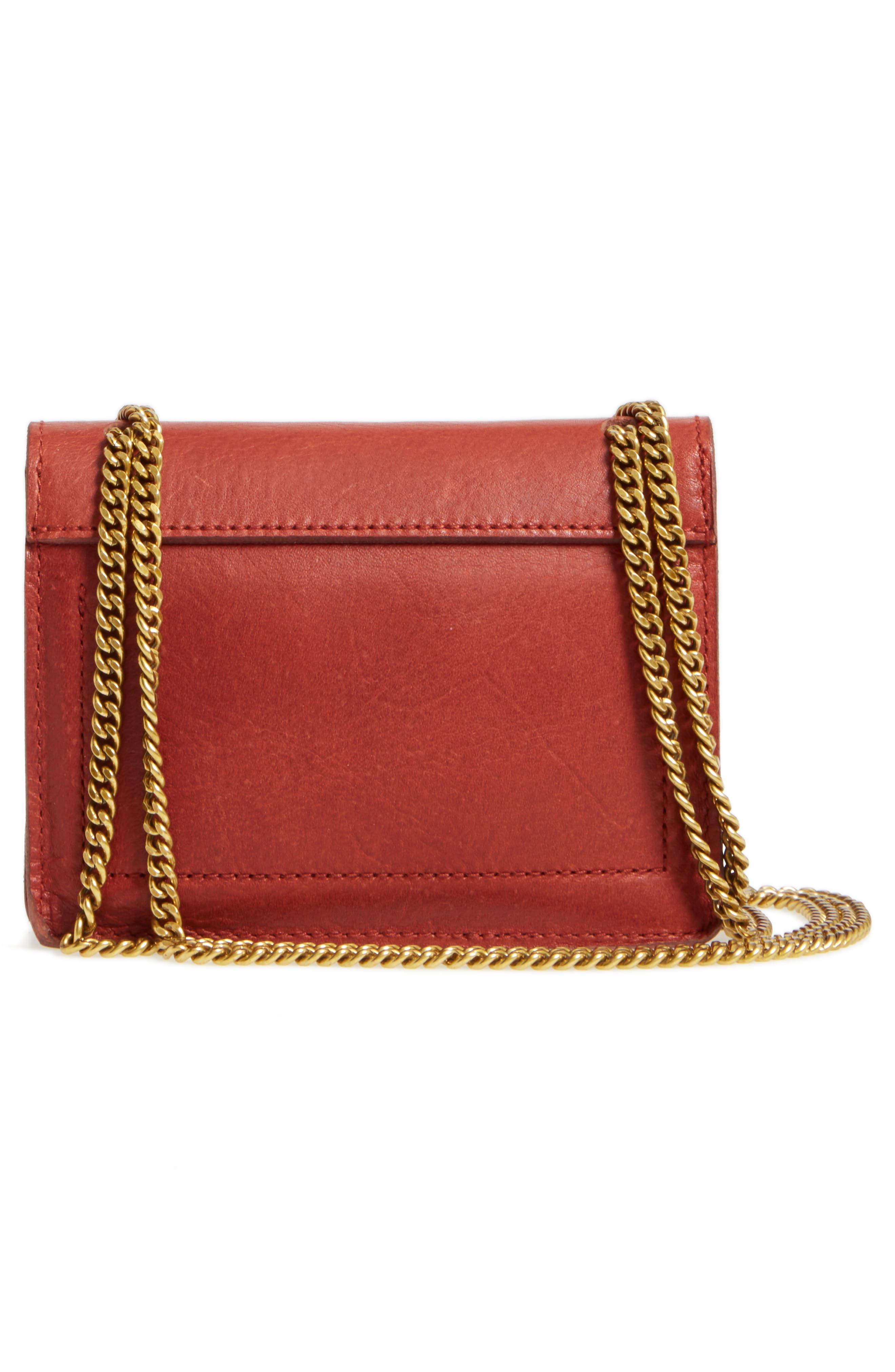 Alternate Image 3  - Madewell Leather Crossbody Wallet