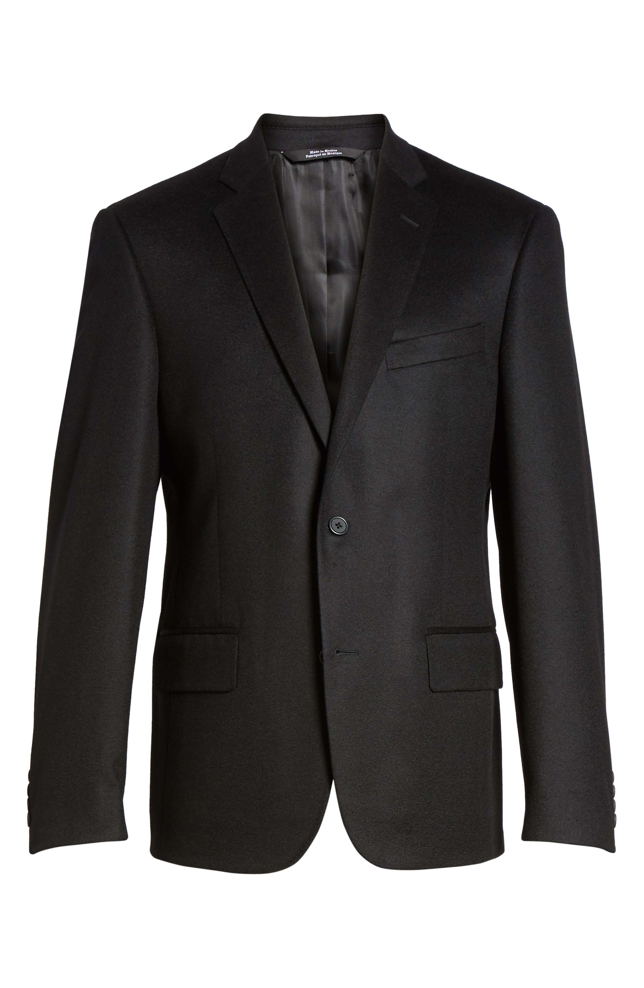 Alternate Image 6  - Nordstrom Men's Shop Classic Fit Cashmere Blazer