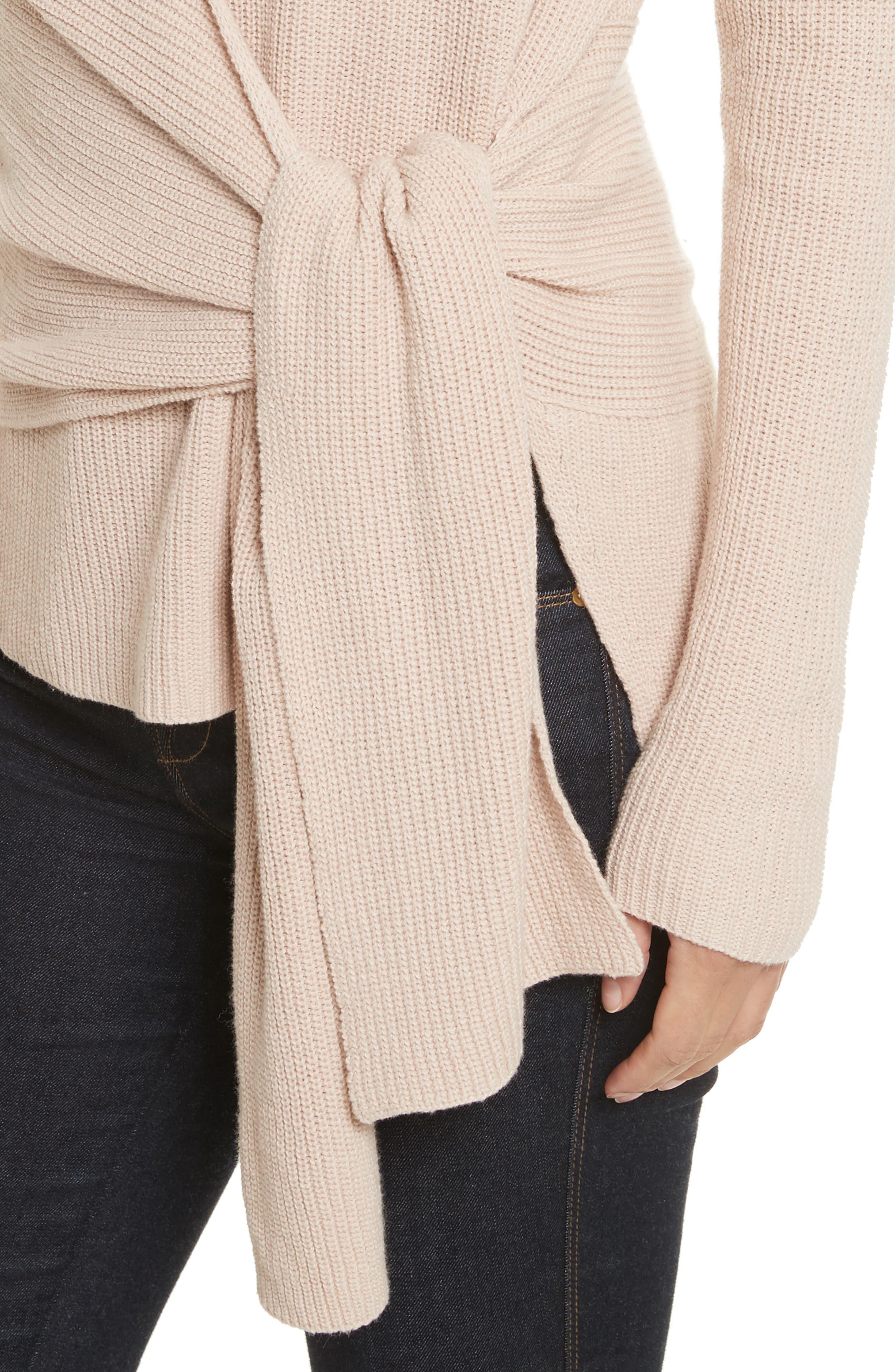 Alternate Image 4  - Brochu Walker Greys Wrap Sweater