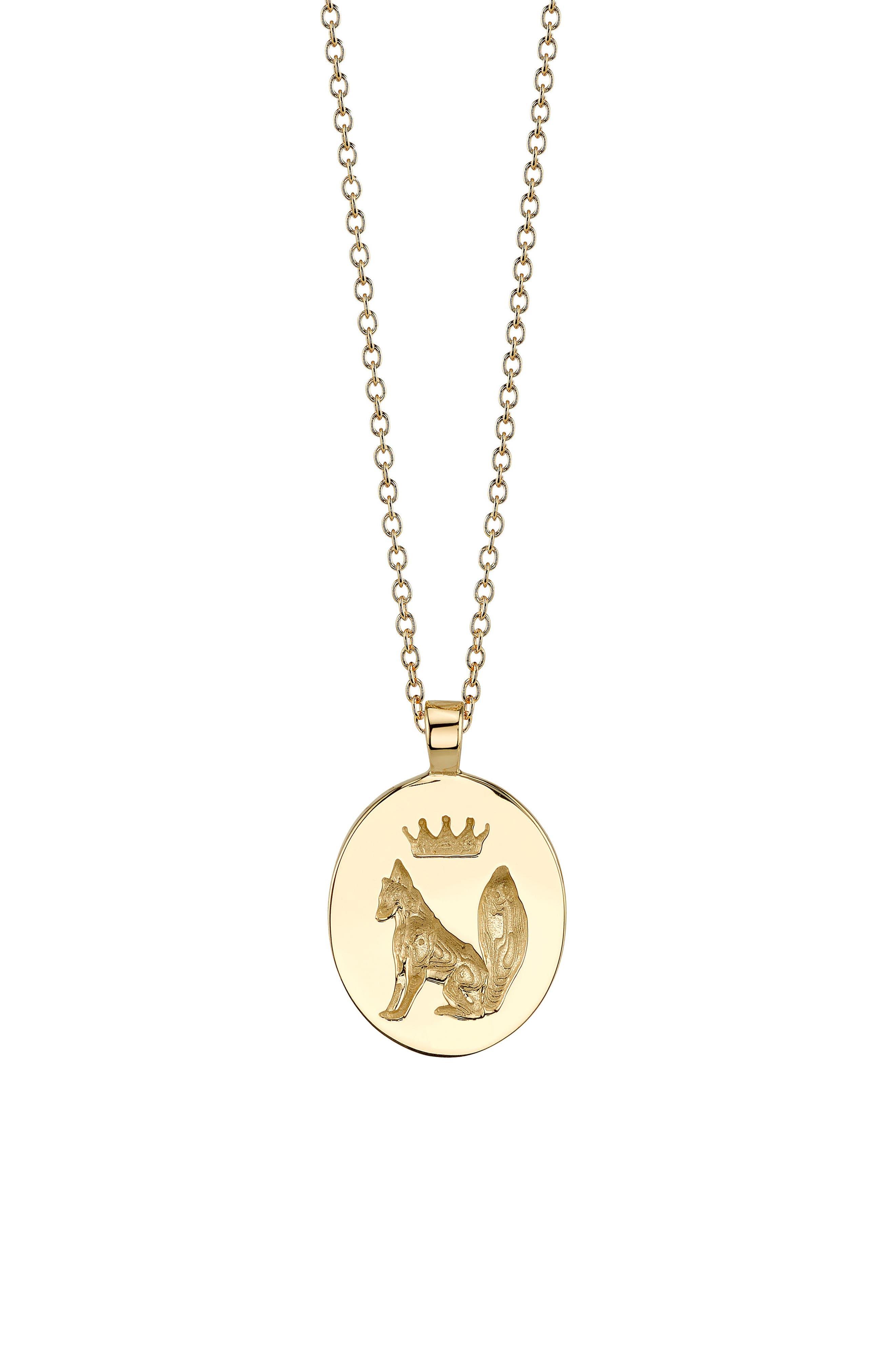 Alternate Image 1 Selected - Iconery x Stone Fox Pendant Necklace
