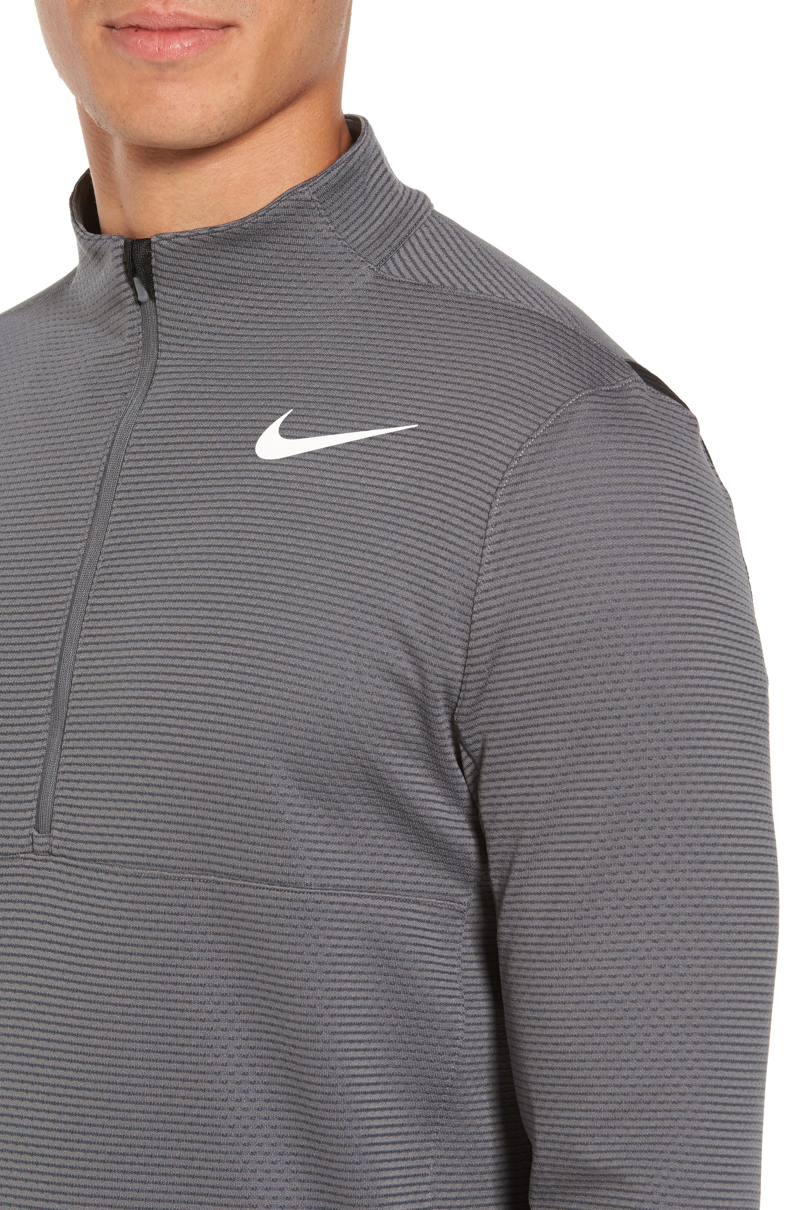 Alternate Image 4  - Nike Arorct Quarter Zip Golf Pullover