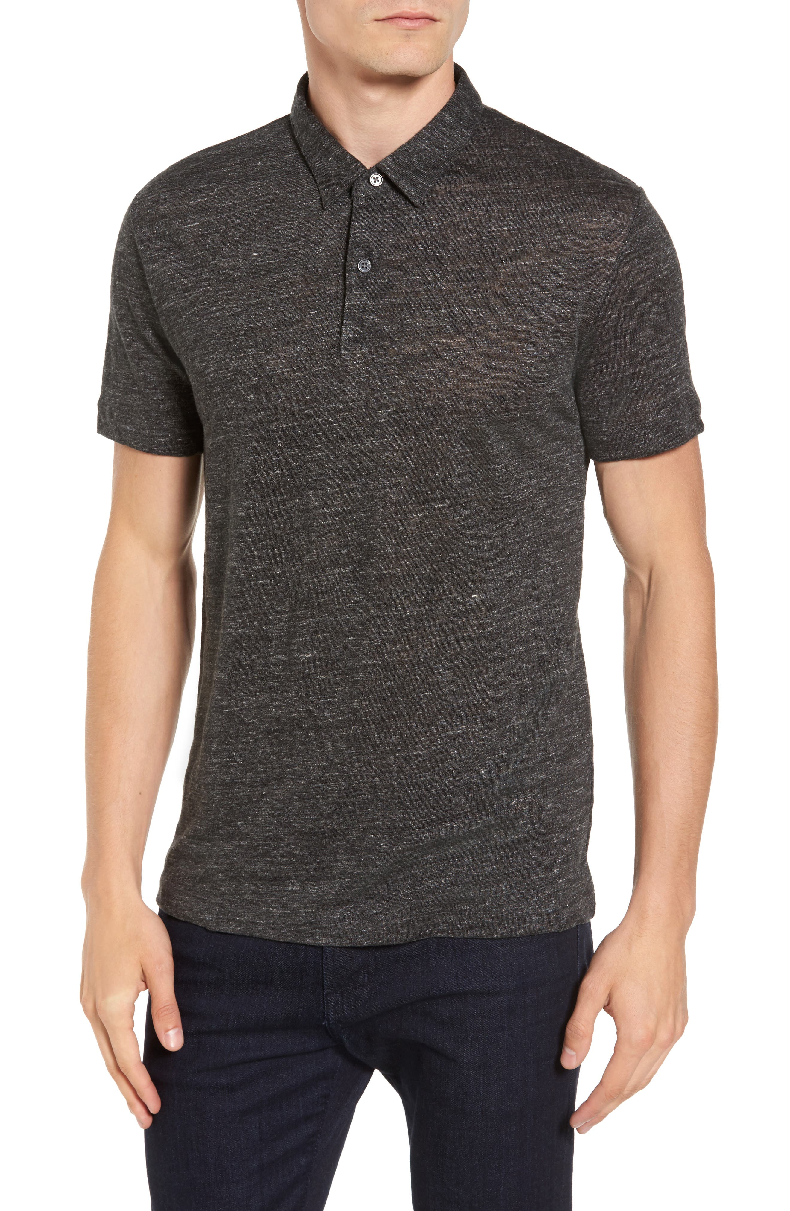 Alternate Image 1 Selected - Theory Linen Polo