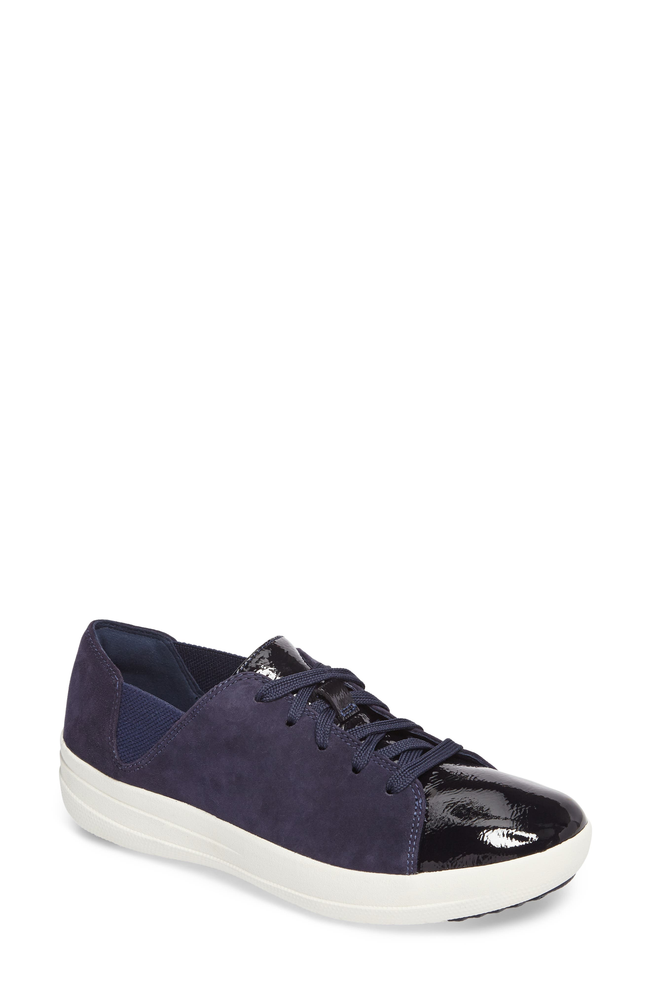 F-Sporty Sneaker,                         Main,                         color, Midnight Navy Mix