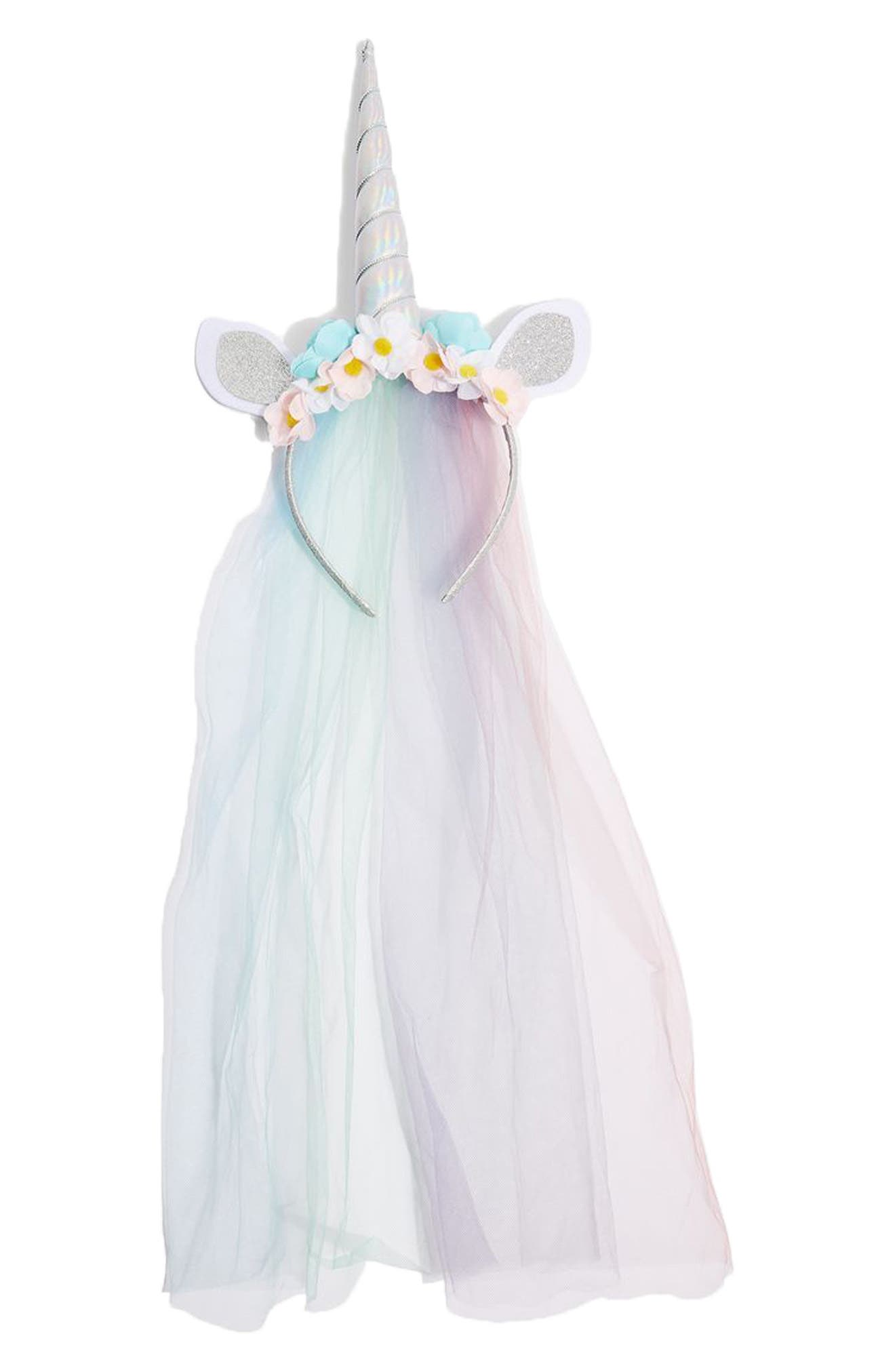 Topshop Veiled Unicorn Headband