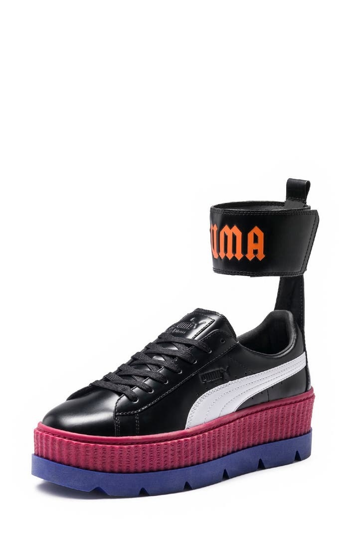 fenty puma by rihanna ankle strap creeper sneaker women nordstrom. Black Bedroom Furniture Sets. Home Design Ideas
