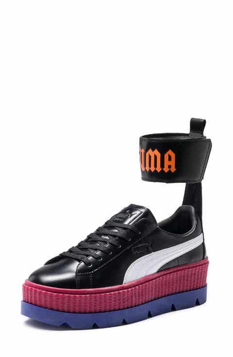 ... black releases in store at FENTY PUMA by Rihanna Ankle Strap Creeper  Sneaker (Women) ... 520e651ac