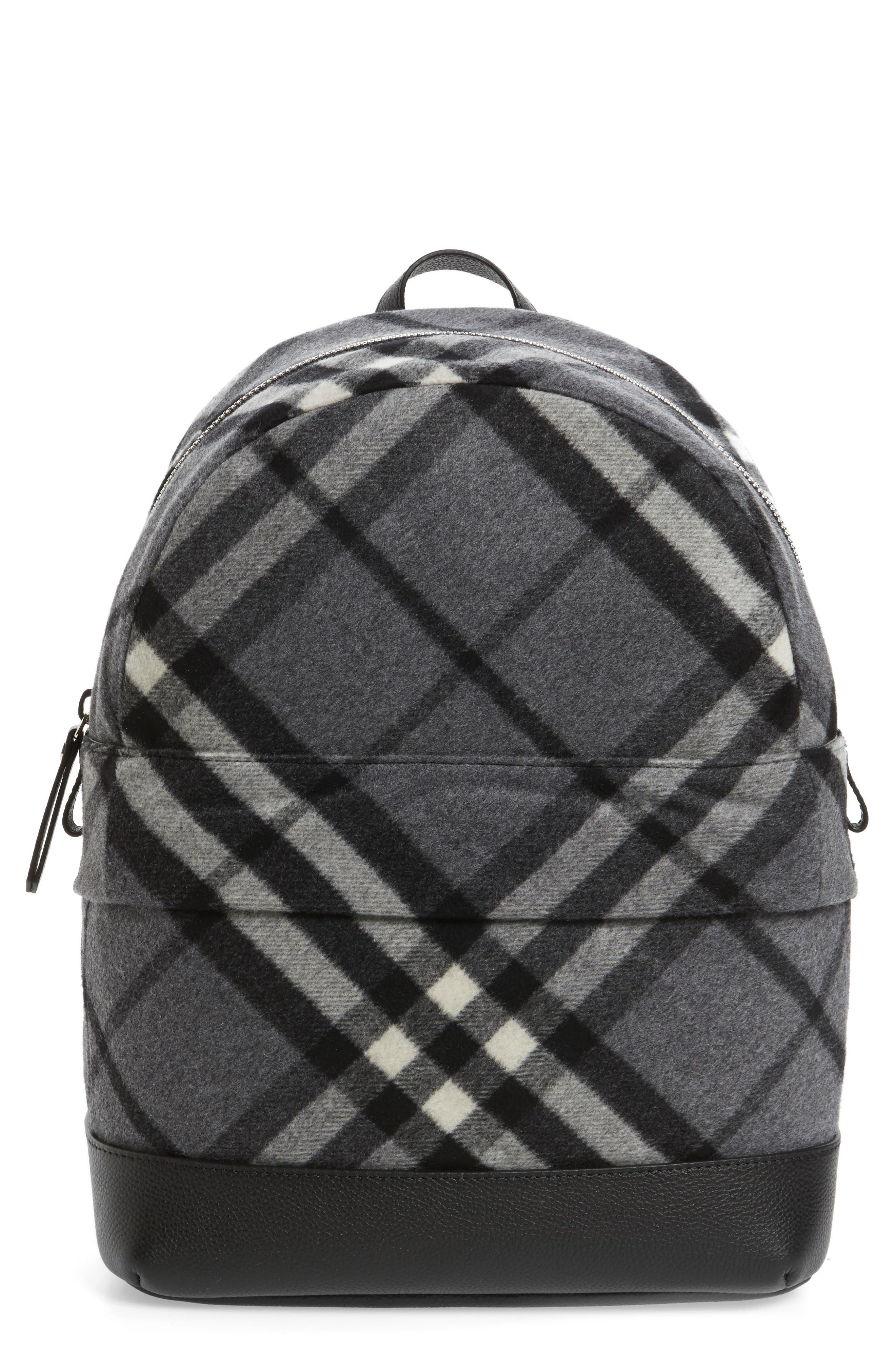 Burberry Nico Check Backpack (Kids)