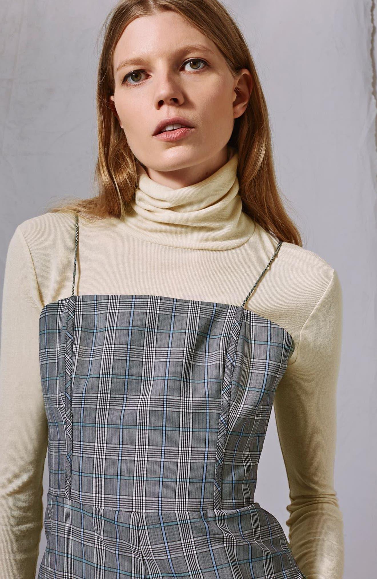 Wool Turtleneck Sweater,                             Alternate thumbnail 4, color,                             Cream