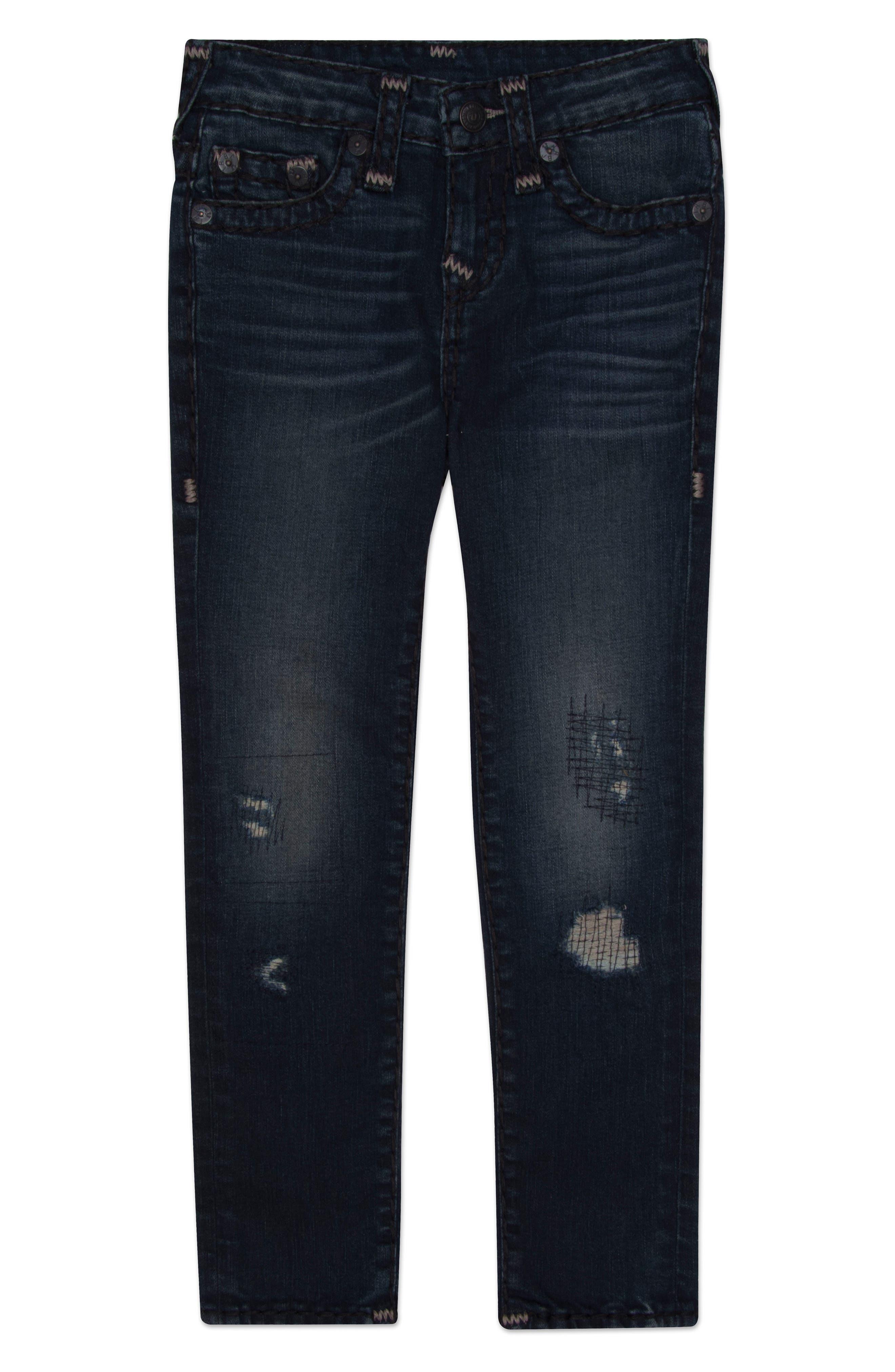Alternate Image 1 Selected - True Religion Brand Jeans Geno Super T Jeans (Toddler Boys, Little Boys & Big Boys)