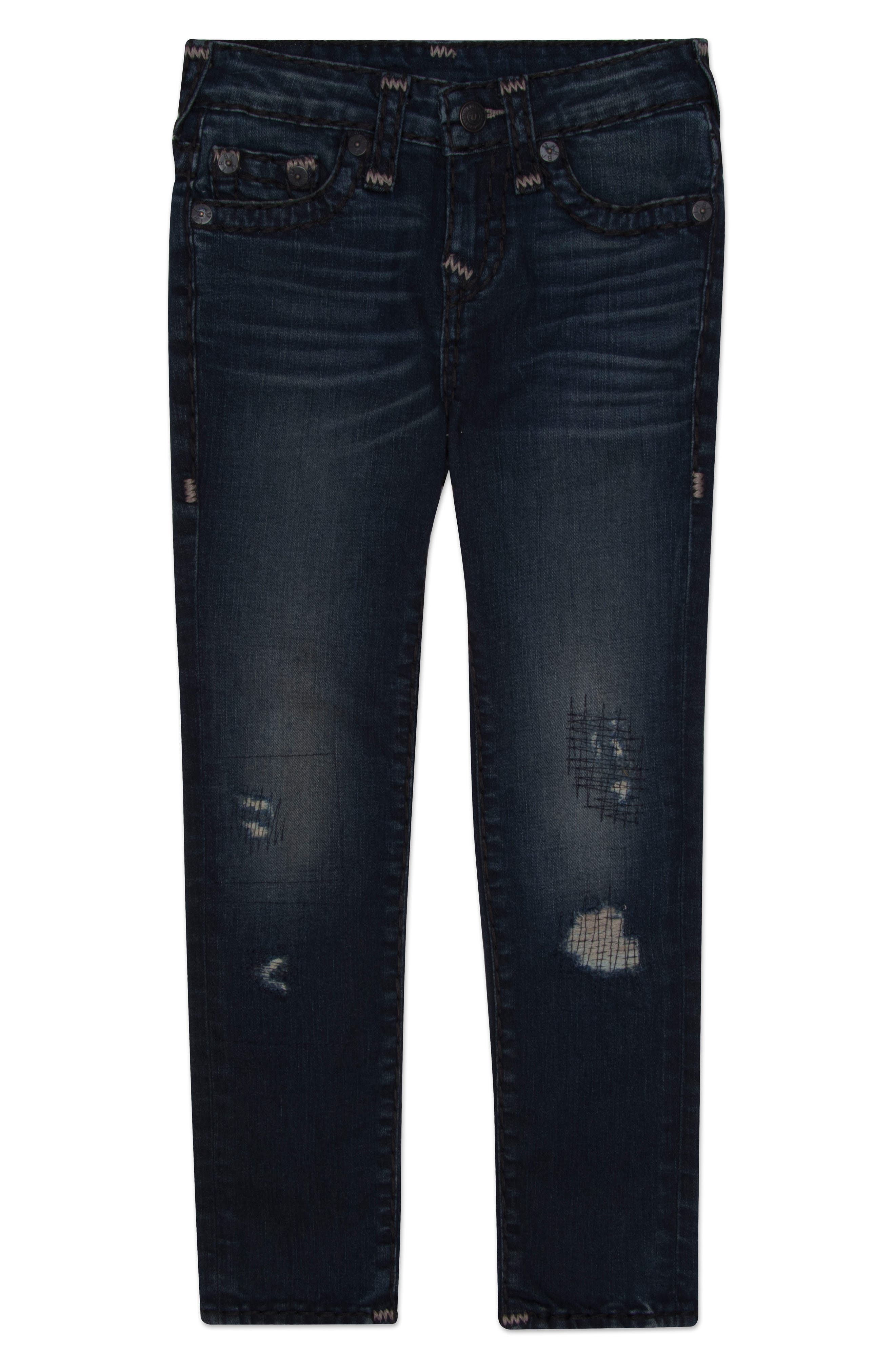 Geno Super T Jeans,                         Main,                         color, Night Owl