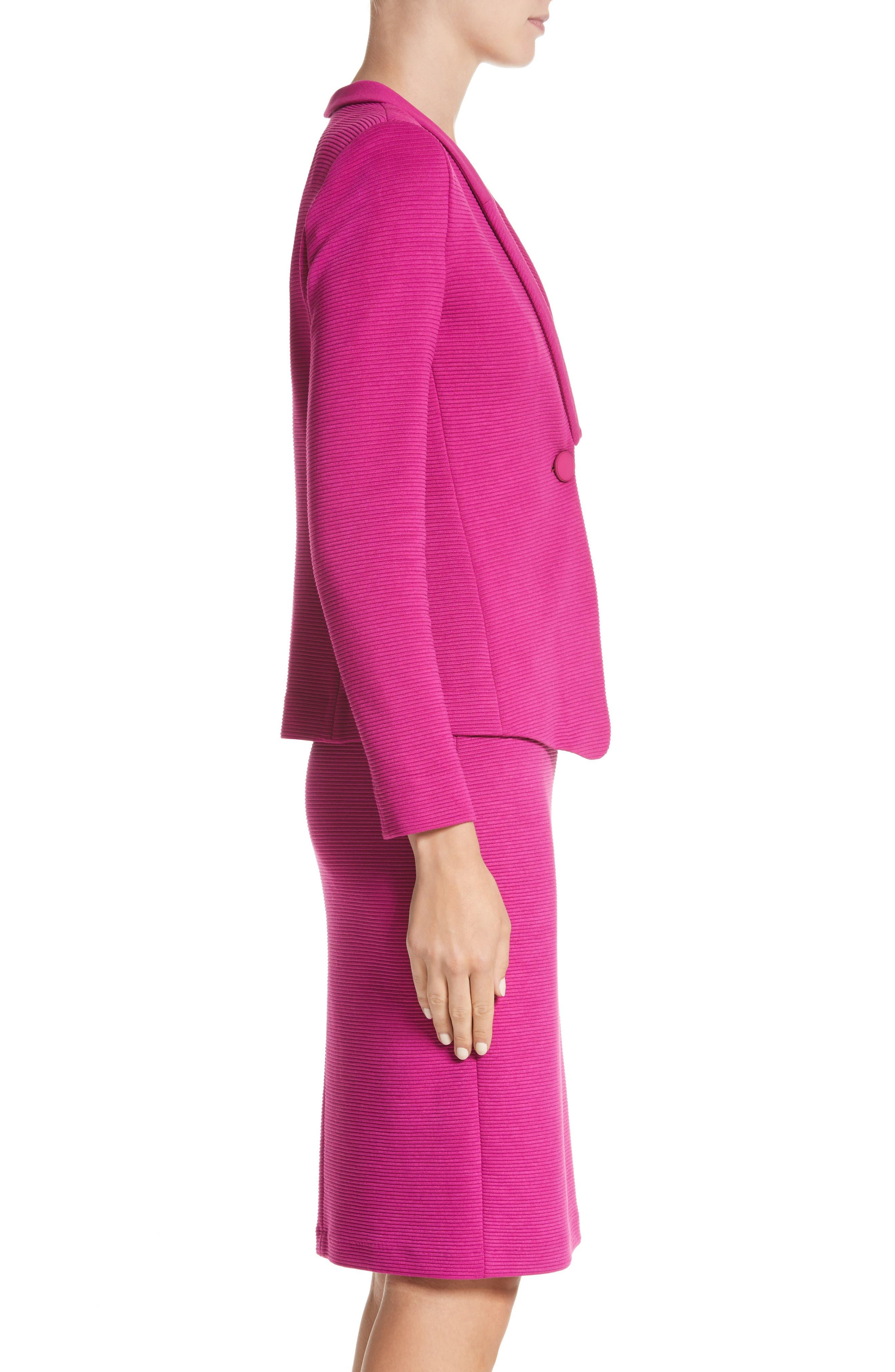 Alternate Image 3  - Armani Collezioni Ottoman Jersey Jacket