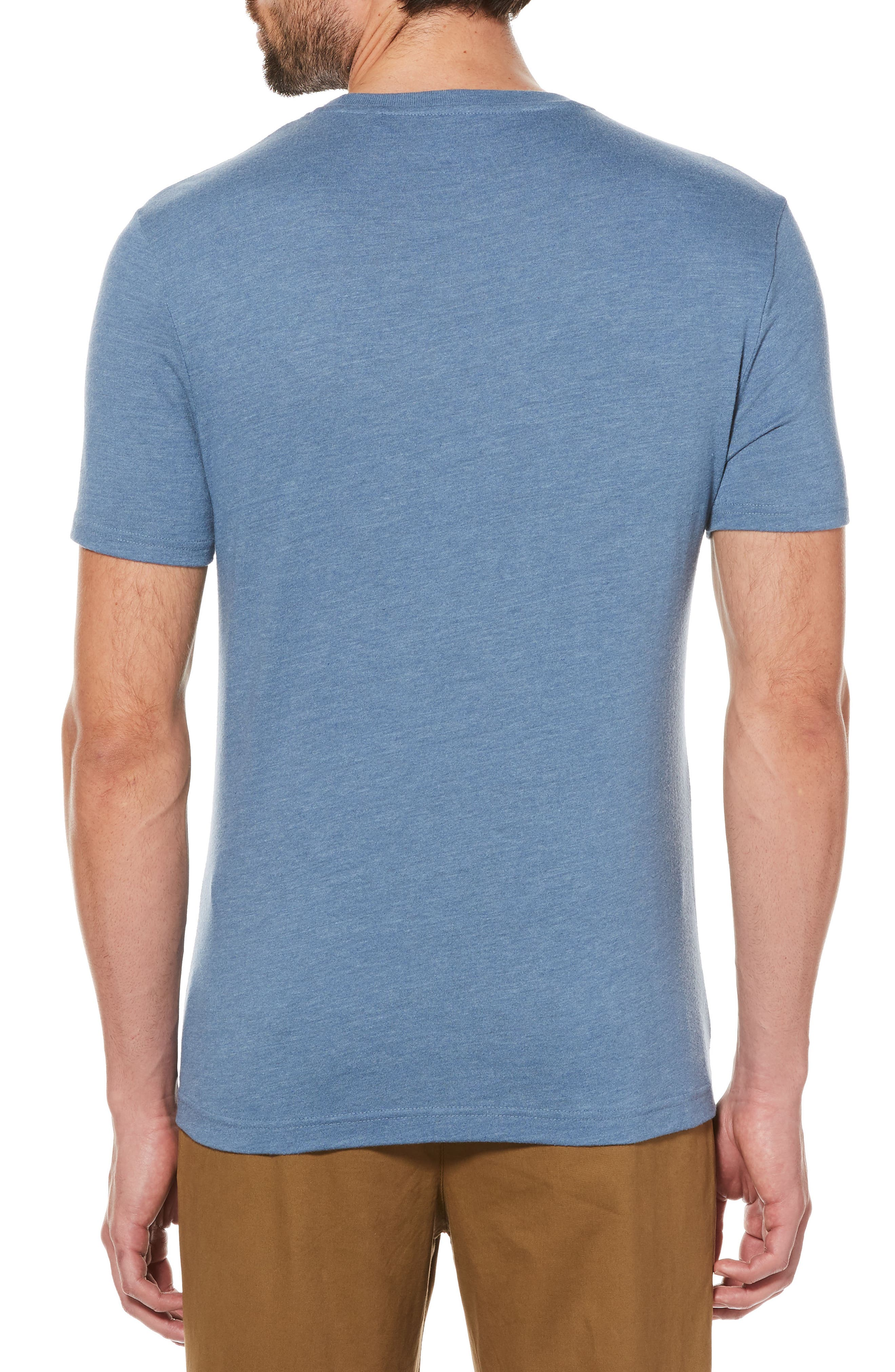 Initial T-Shirt,                             Alternate thumbnail 2, color,                             China Blue