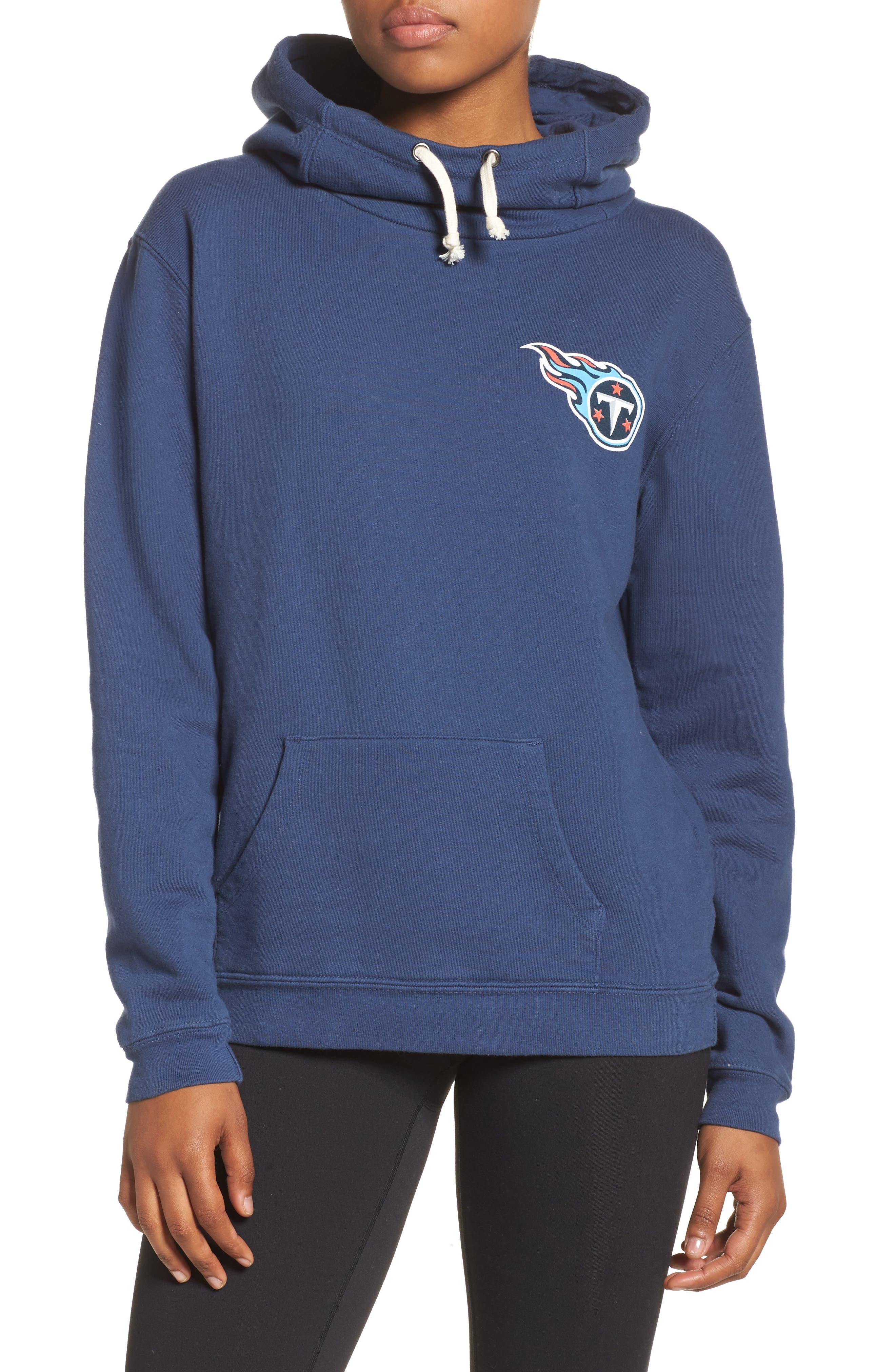 NFL Tennessee Titans Sunday Hoodie,                             Main thumbnail 1, color,                             True Navy