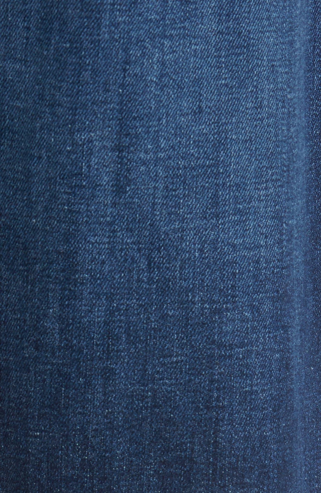 Brixton Slim Straight Leg Jeans,                             Alternate thumbnail 5, color,                             Bradlee