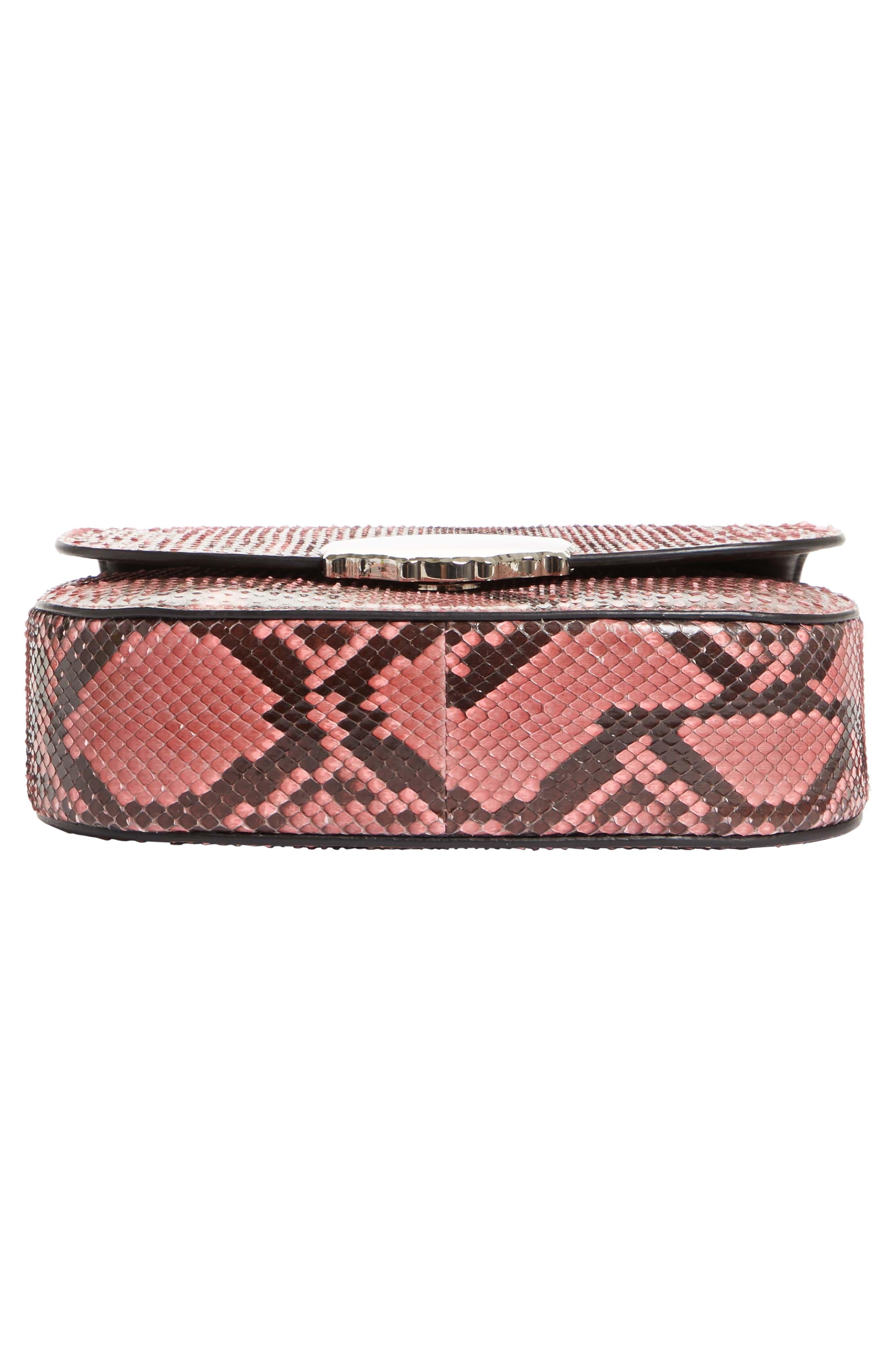 Alternate Image 6  - Calvin Klein 205W395NYC Genuine Python Shoulder Bag