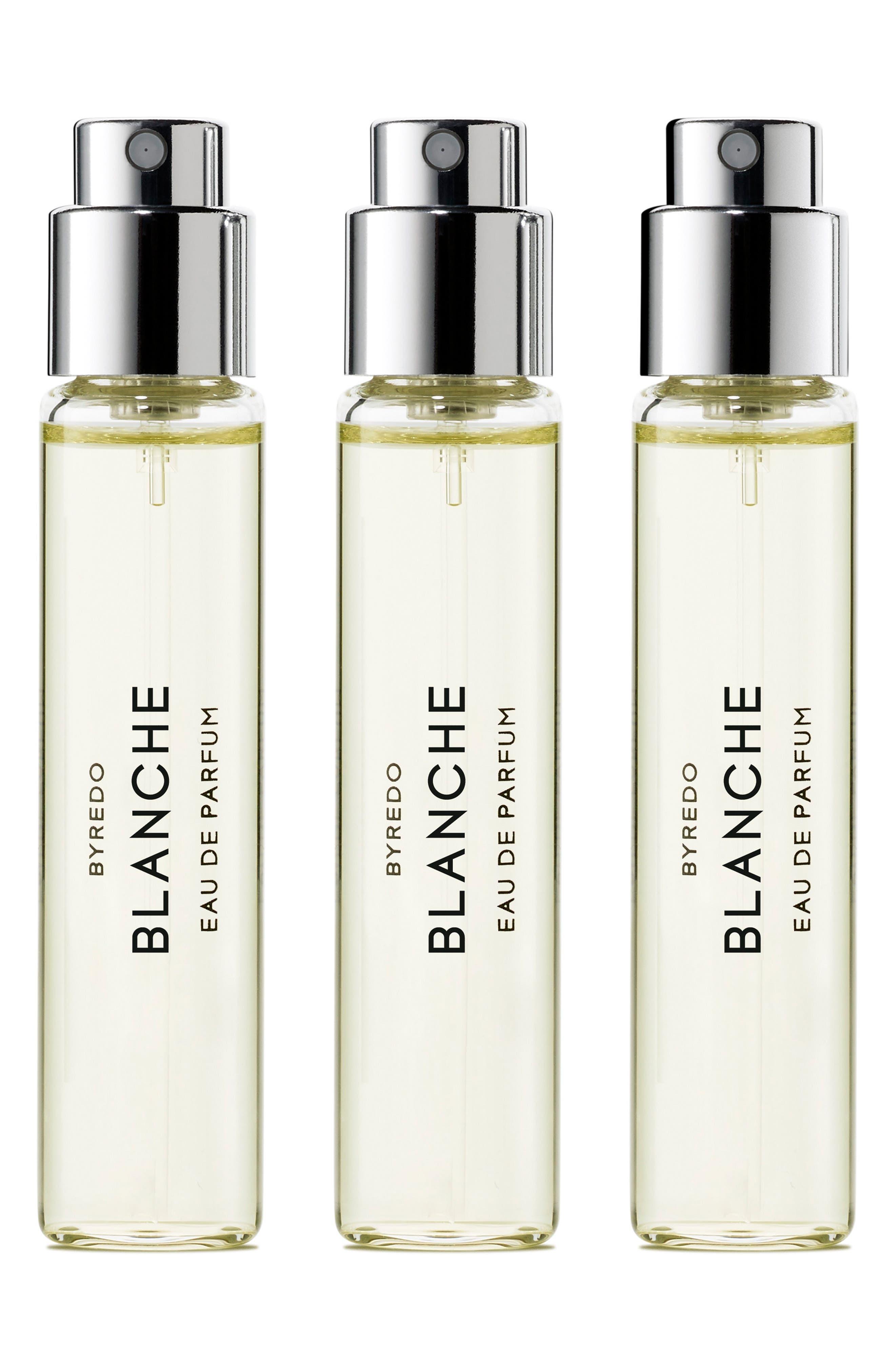 Alternate Image 1 Selected - BYREDO Blanche Eau de Parfum Travel Spray Trio