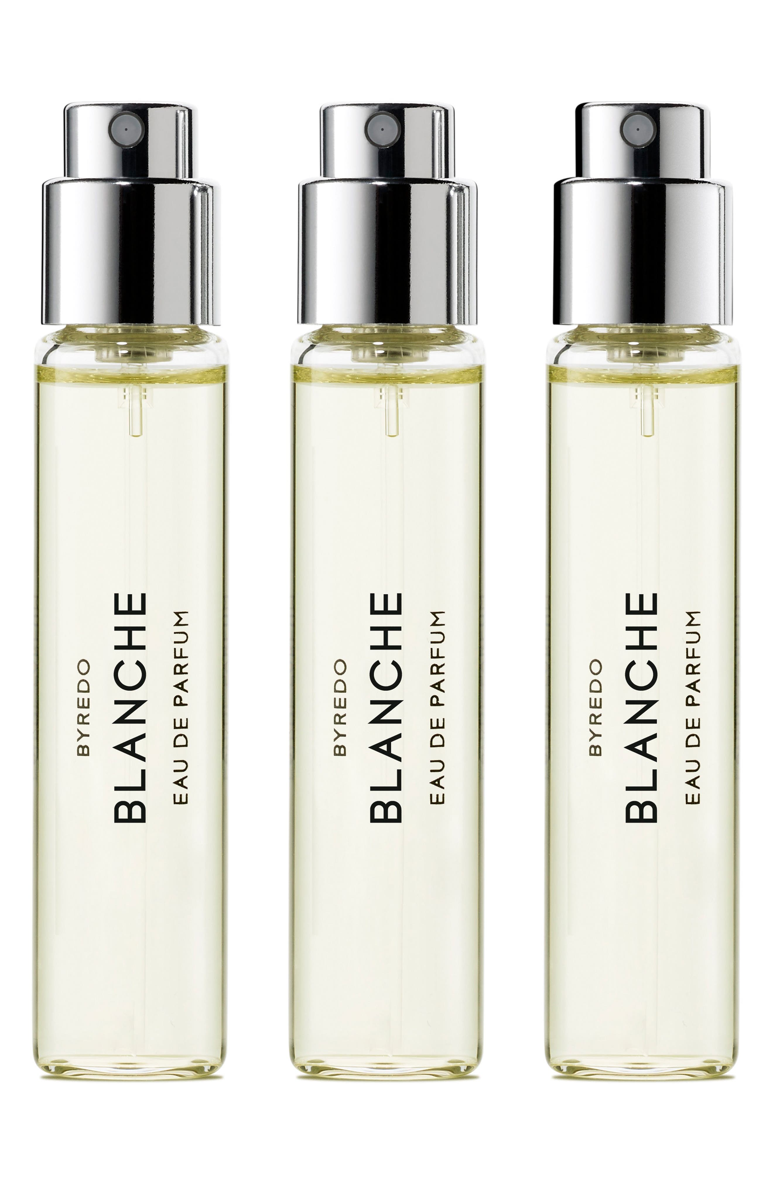 BYREDO Blanche Eau de Parfum Travel Spray Trio