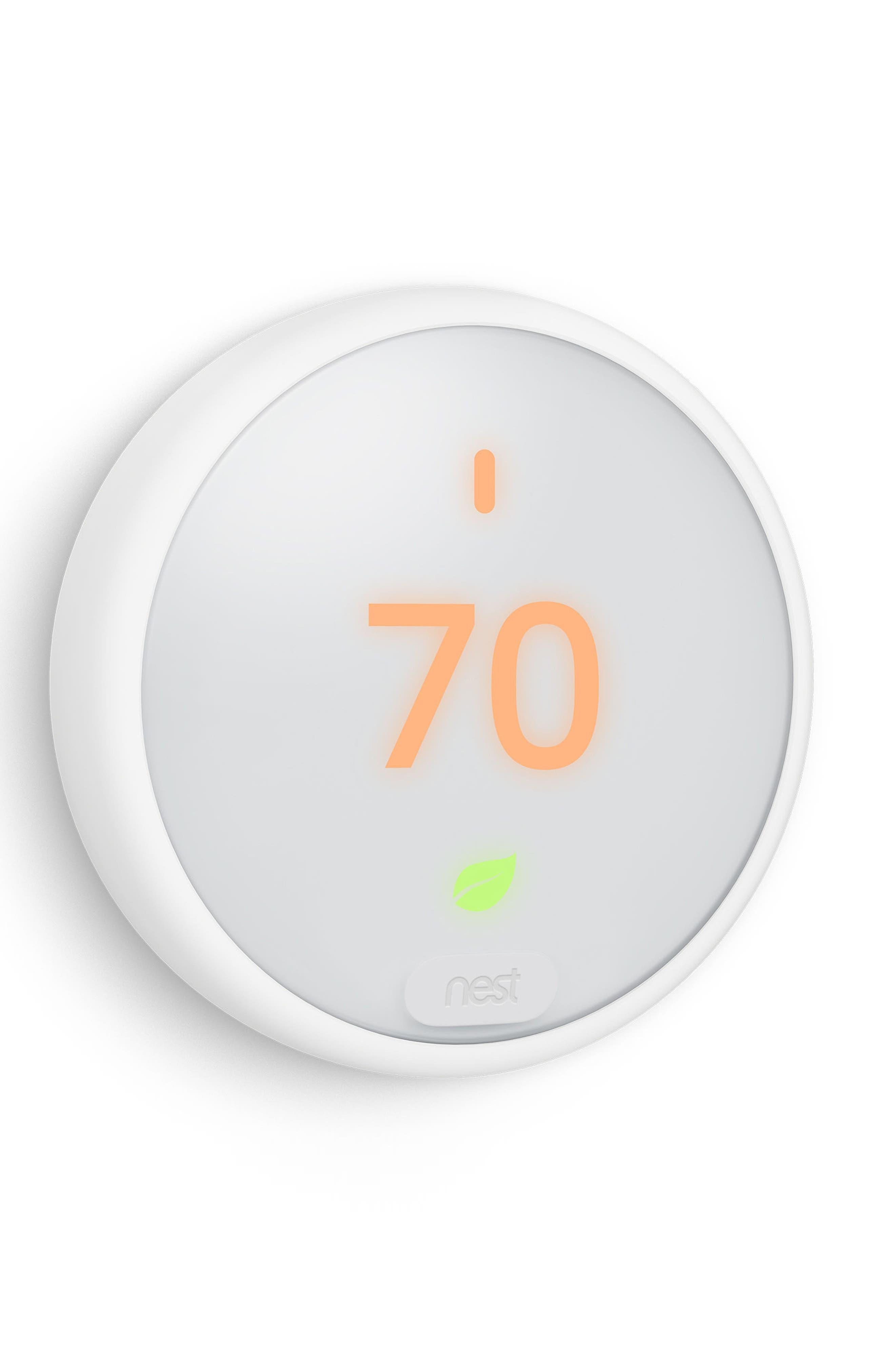 Thermostat E,                             Alternate thumbnail 3, color,                             White