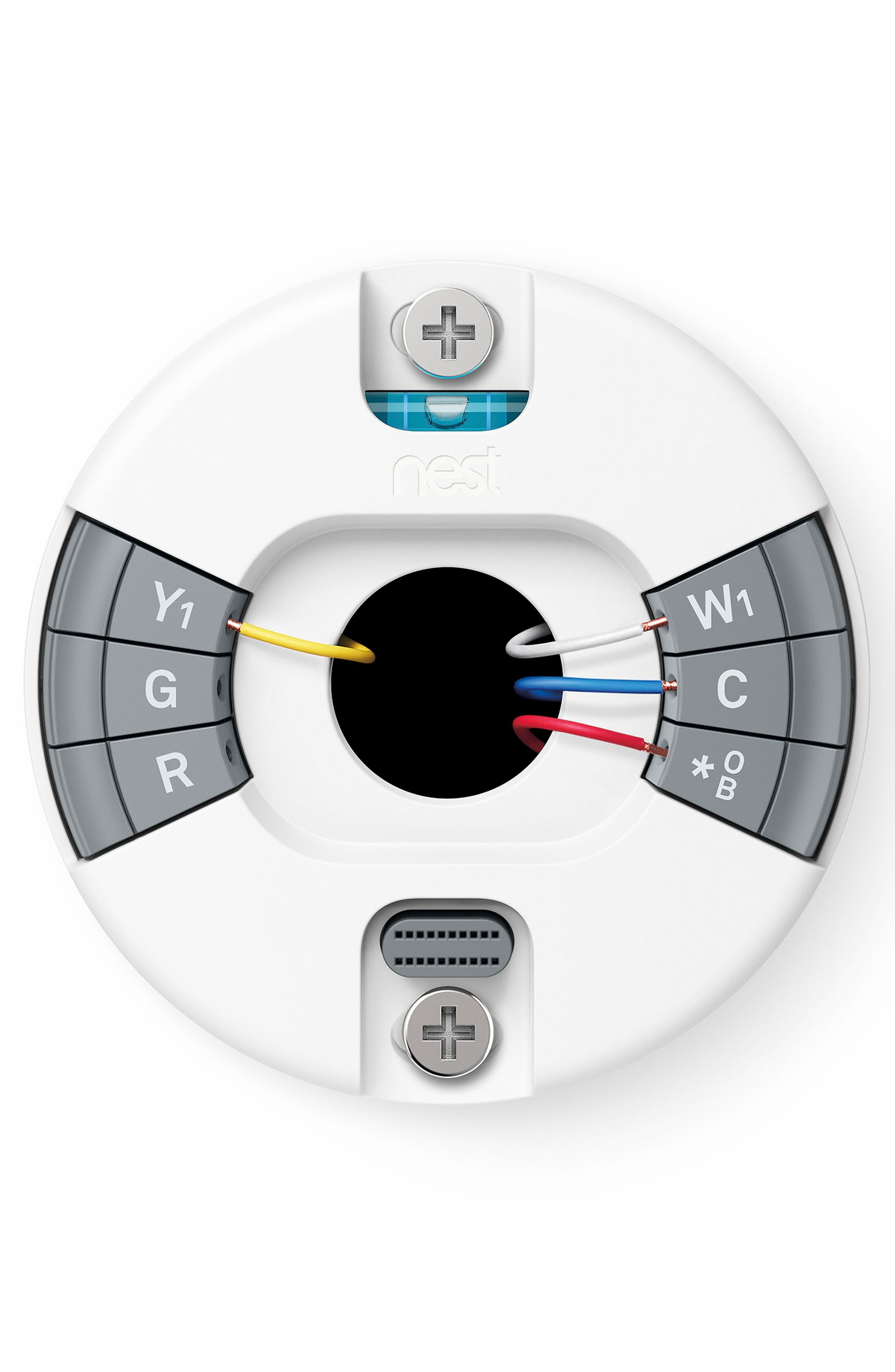 Thermostat E,                             Alternate thumbnail 7, color,                             White