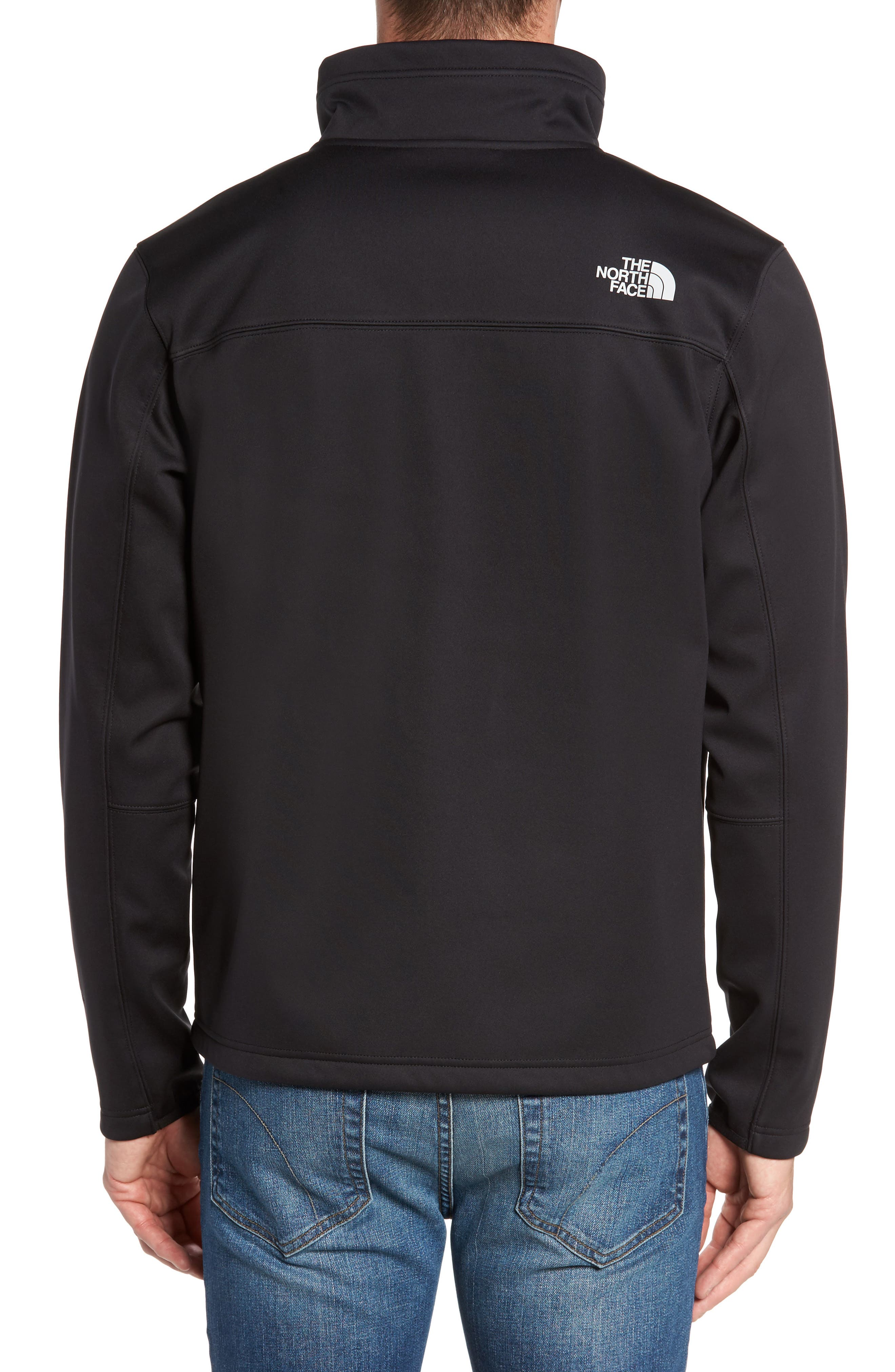 Apex Risor Jacket,                             Alternate thumbnail 2, color,                             Black/ Black