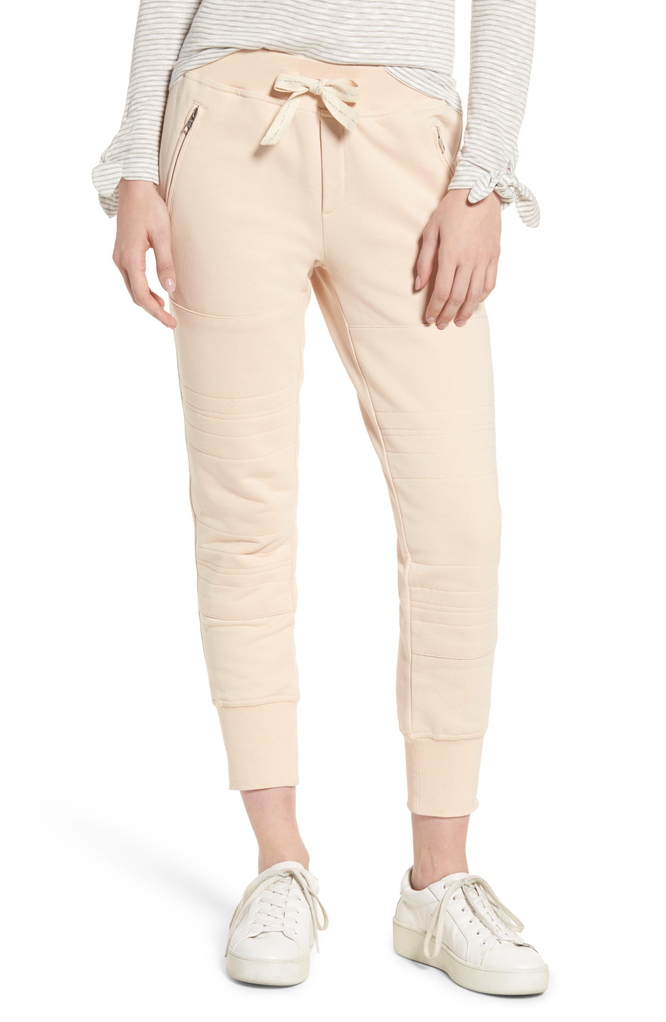 Lux Jogger Pants,                         Main,                         color, Blush