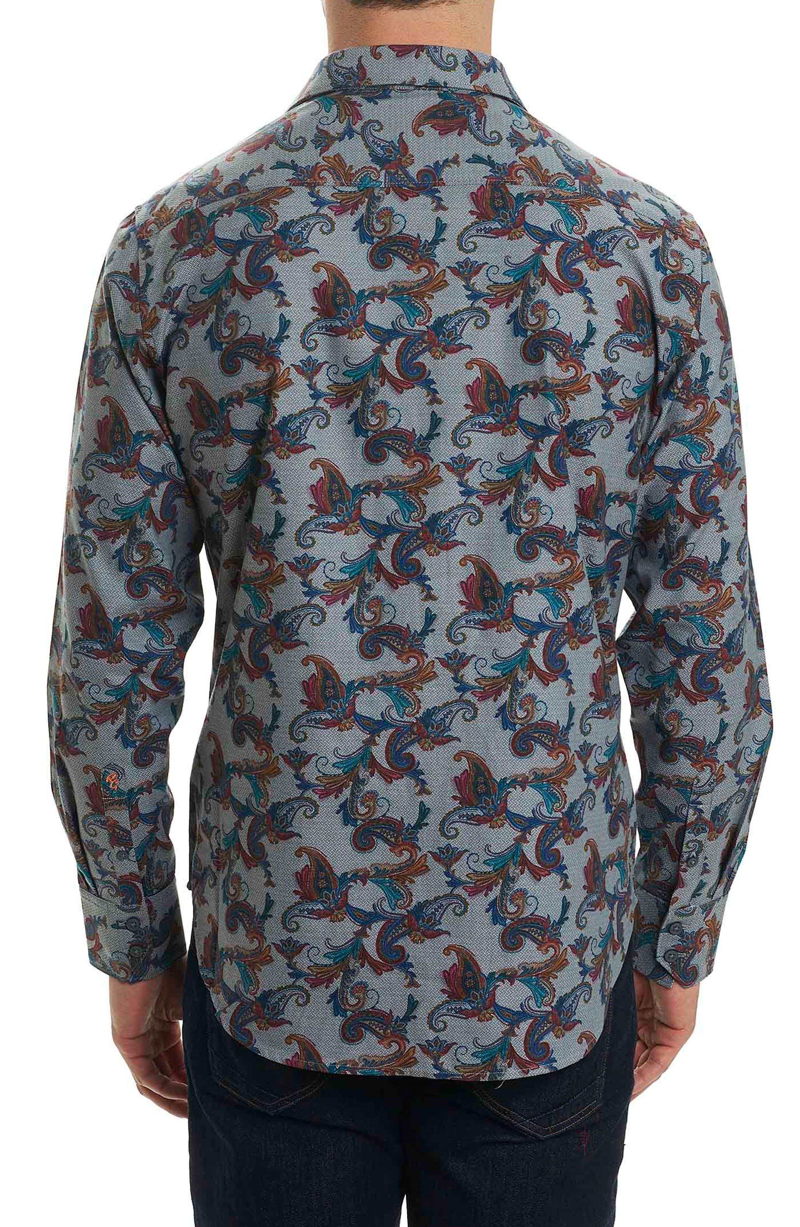 Alternate Image 2  - Robert Graham Massif Print Sport Shirt