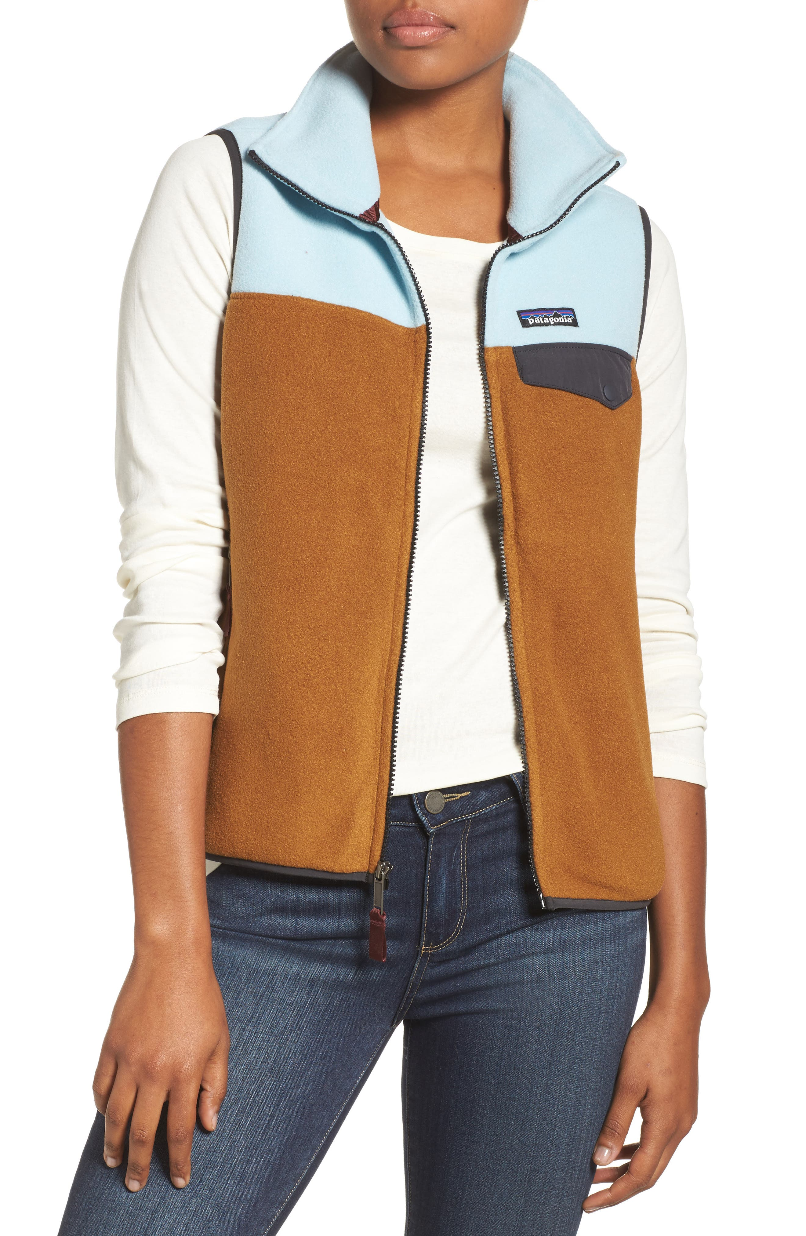 Main Image - Patagonia Snap-T® Fleece Vest