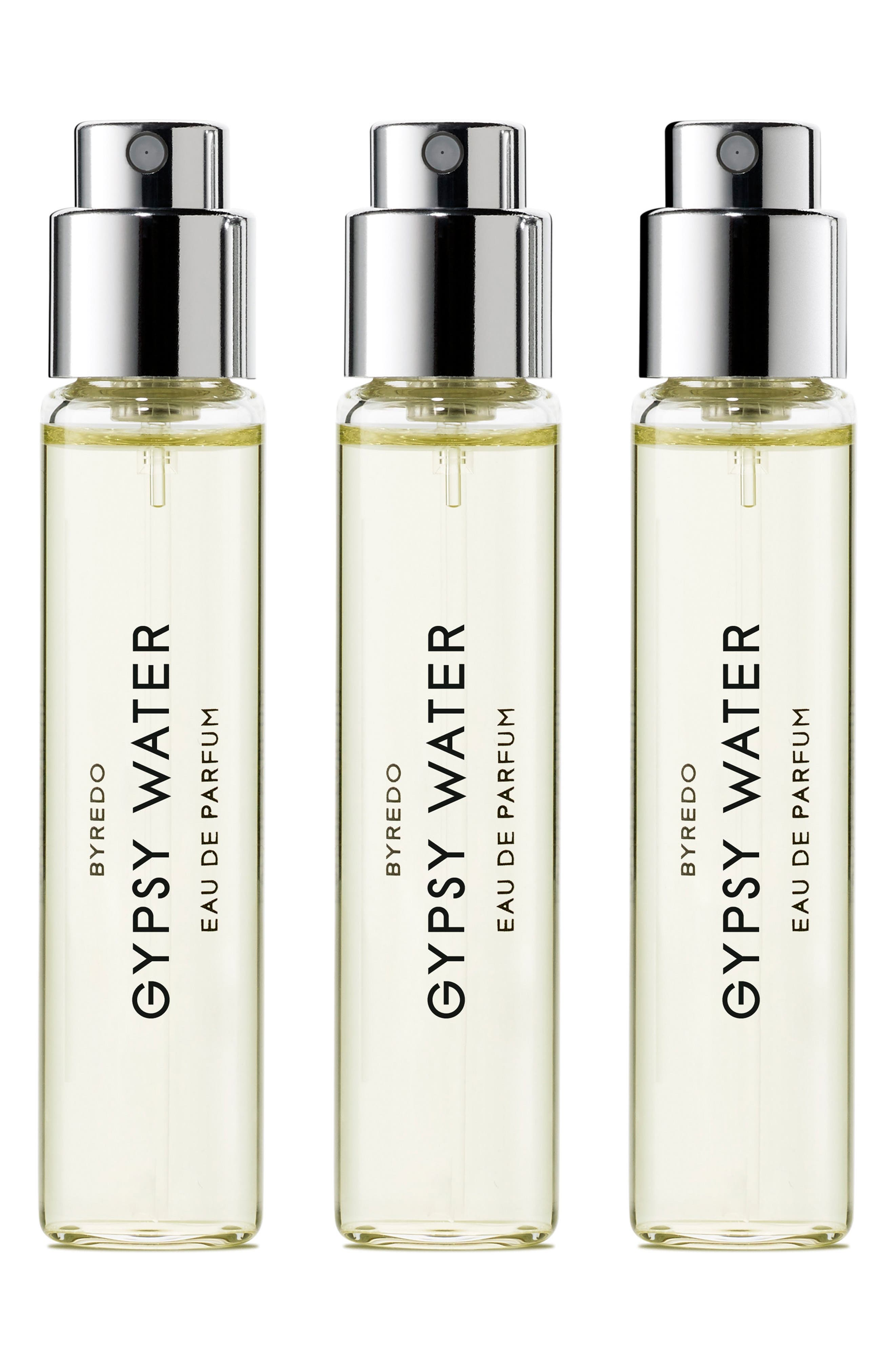 Main Image - BYREDO Gypsy Water Eau de Parfum Travel Spray Trio