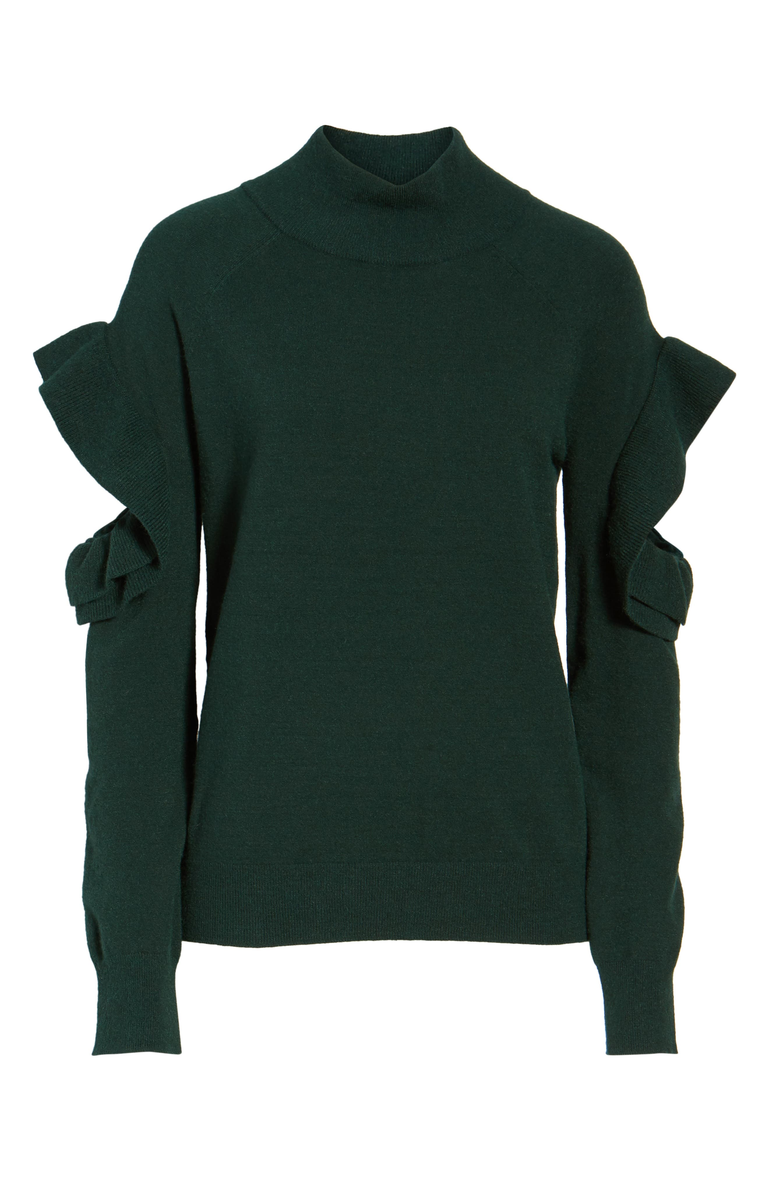 Alternate Image 5  - Chelsea28 Ruffle Sleeve Sweater