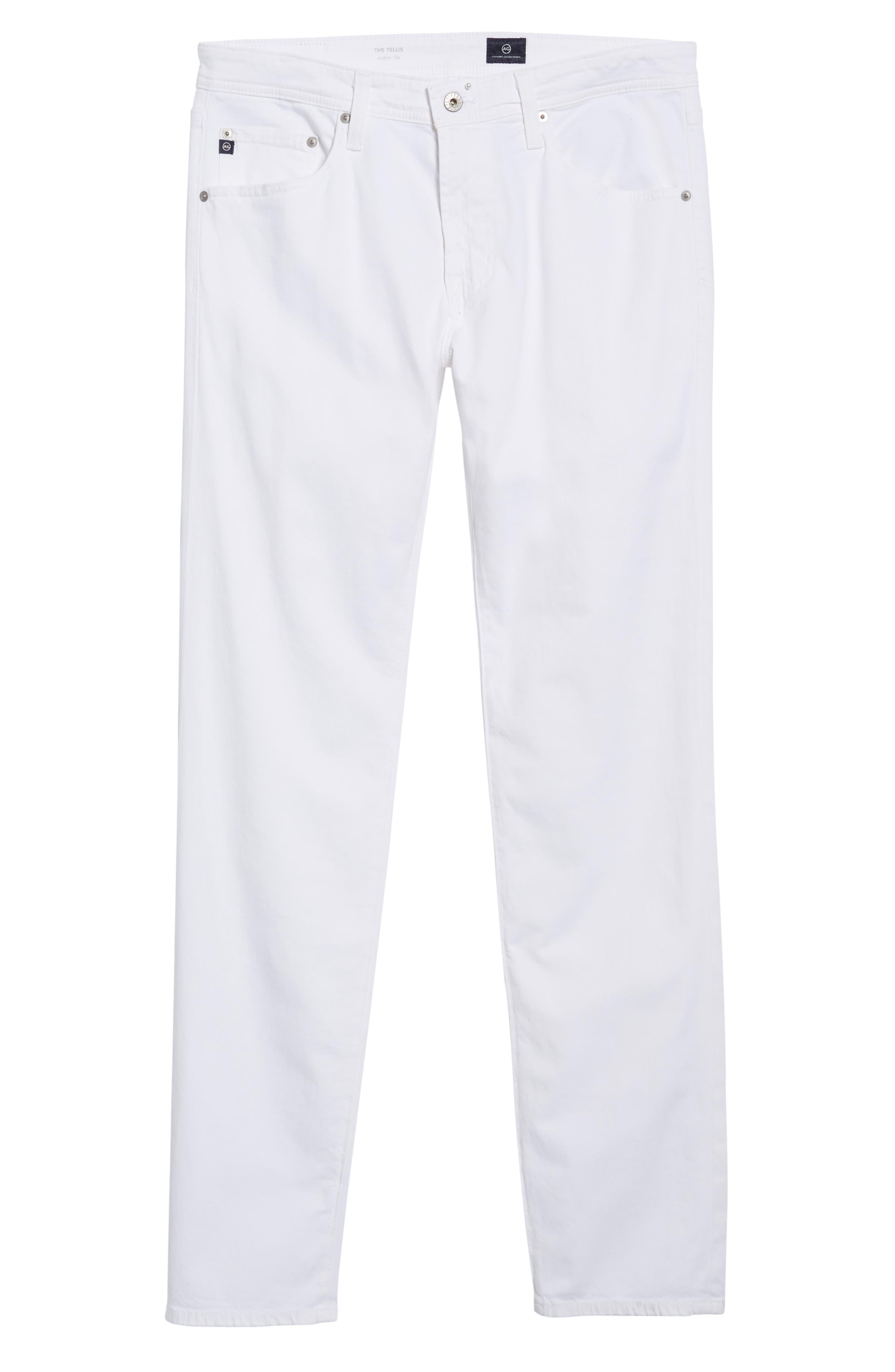 Alternate Image 6  - AG Tellis SUD Modern Slim Stretch Twill Pants