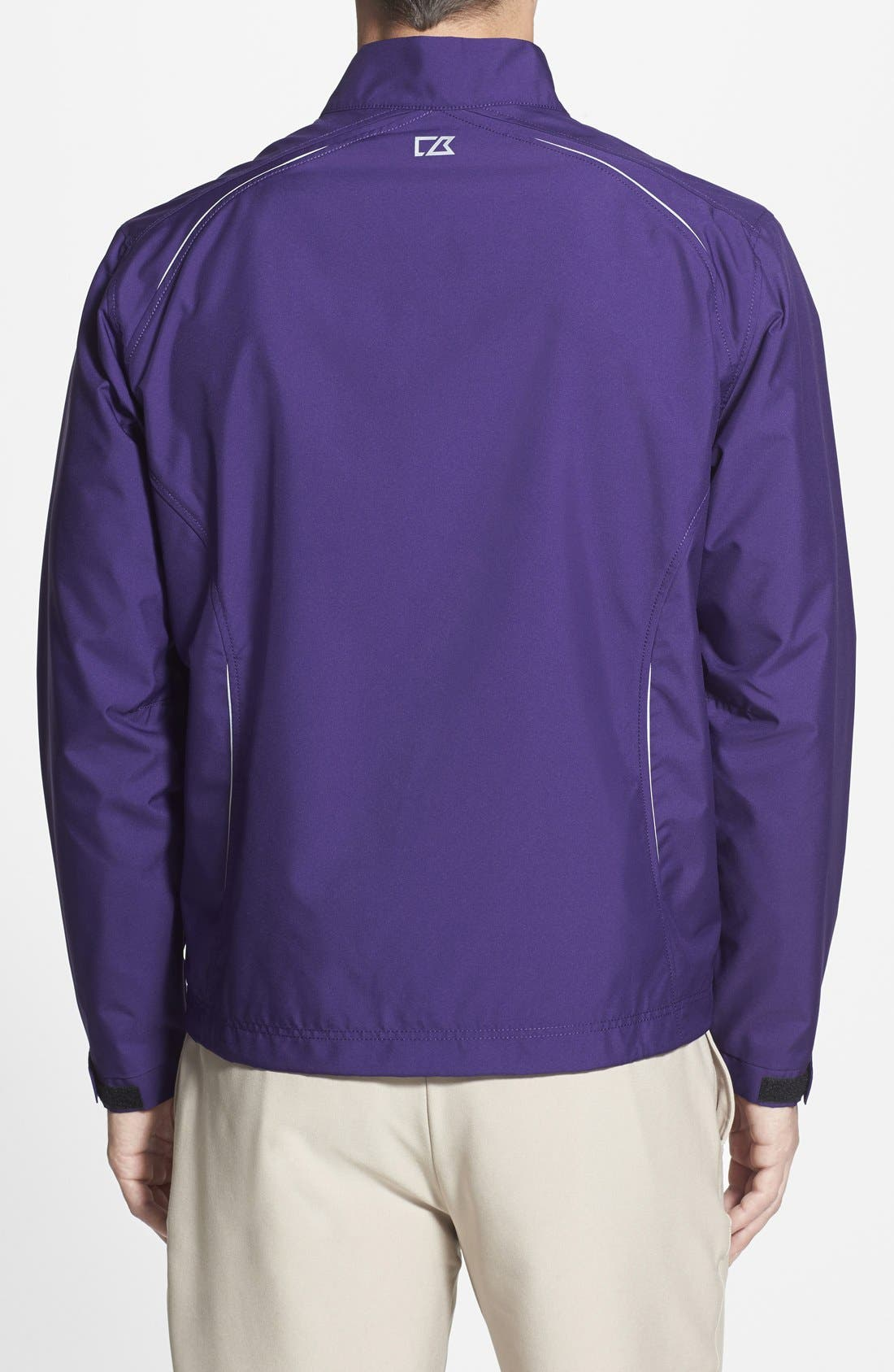 Alternate Image 2  - Cutter & Buck Minnesota Vikings - Beacon WeatherTec Wind & Water Resistant Jacket